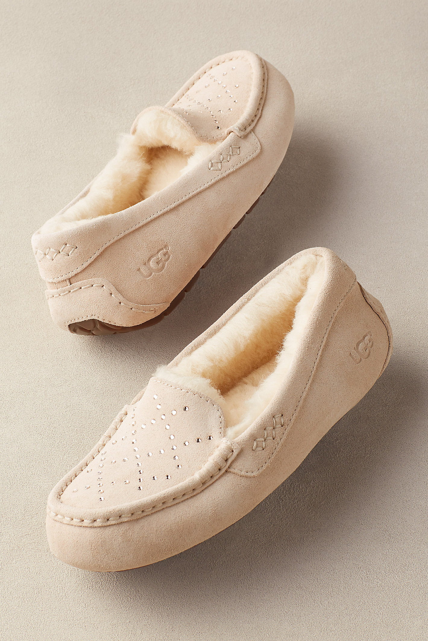 UGG ANSLEY QUILTED SLIPPERS
