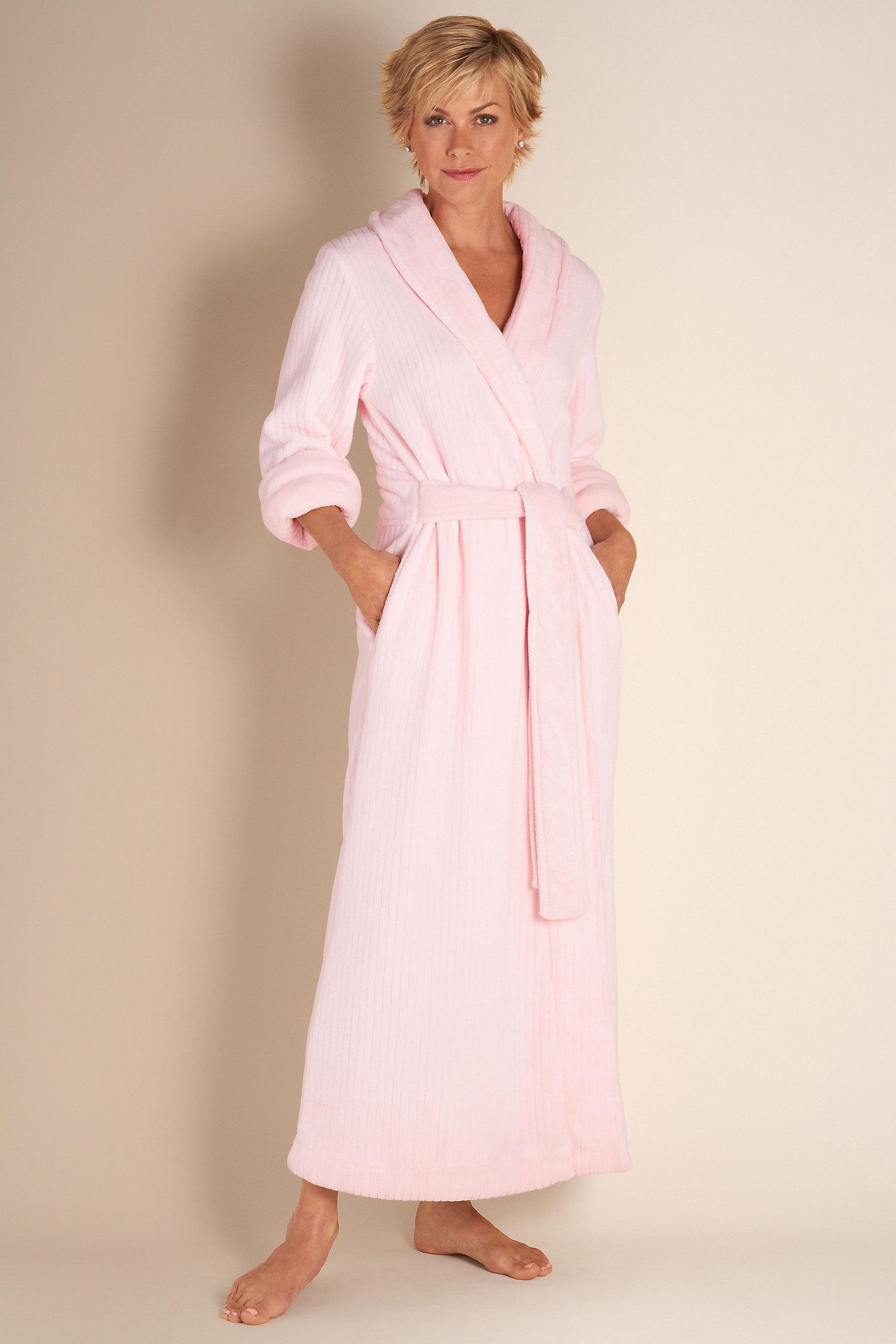 Petite Classic Chenille Robe