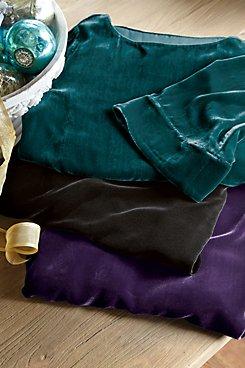 Silk Velvet Tunic