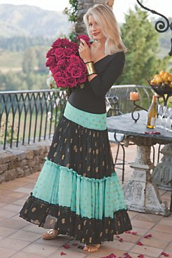 Moroccan Nights Skirt and Ballerina Tee