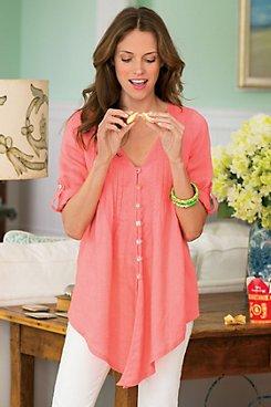 Womens Linen Shirt