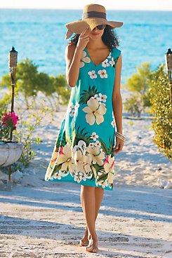 Tropicana Rayon Dress