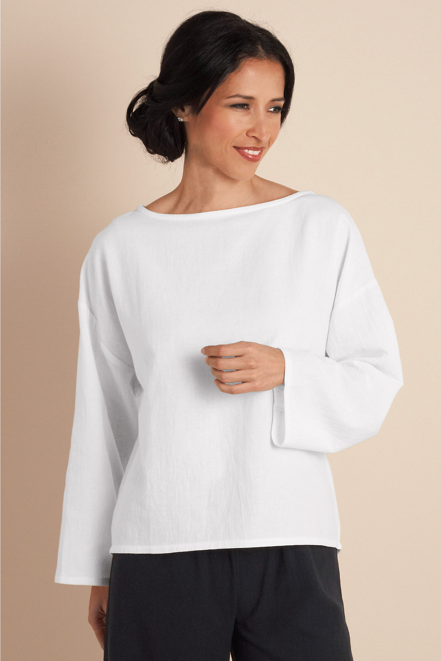 Gauze Pullover
