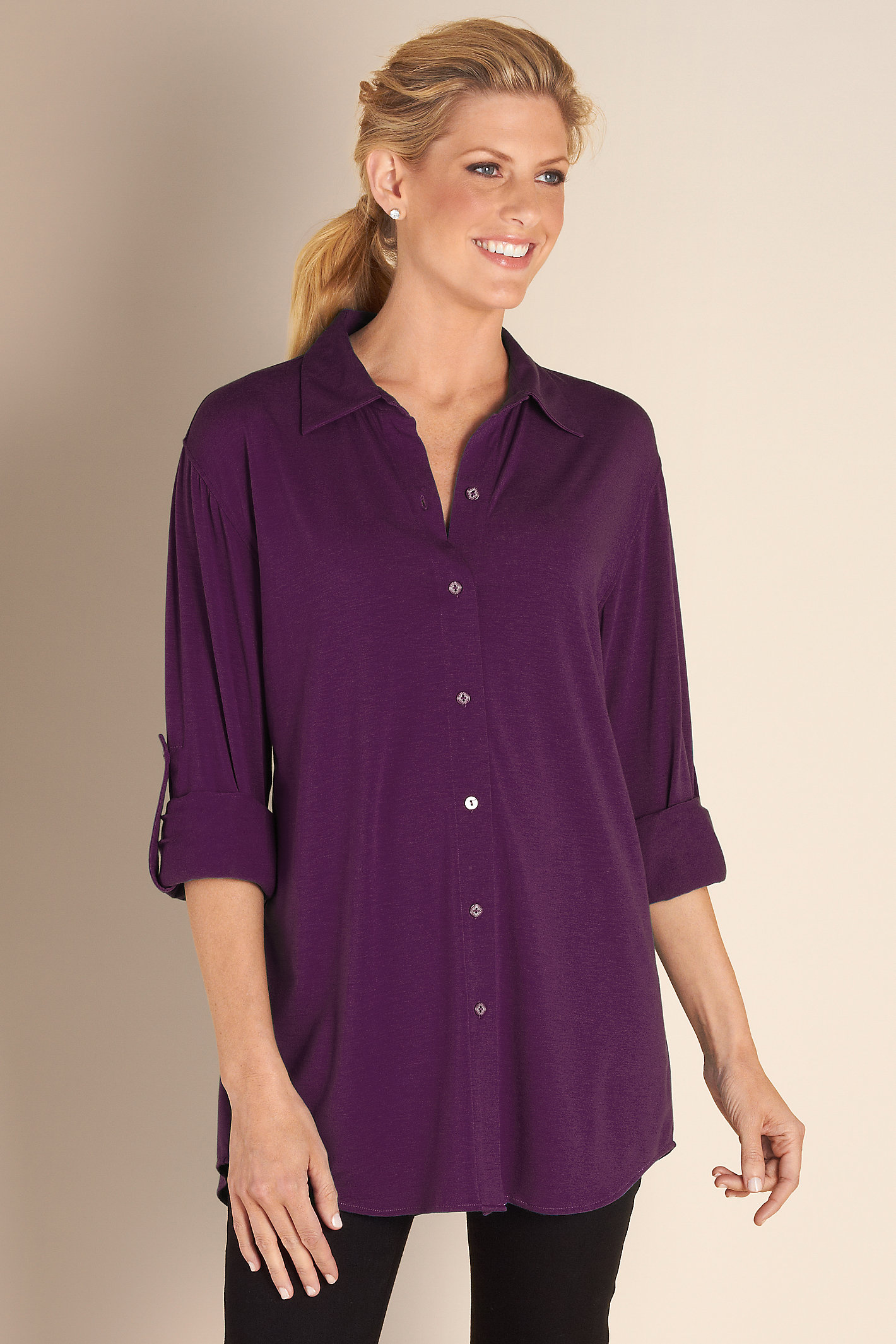 Petite Soft Sunday Shirt