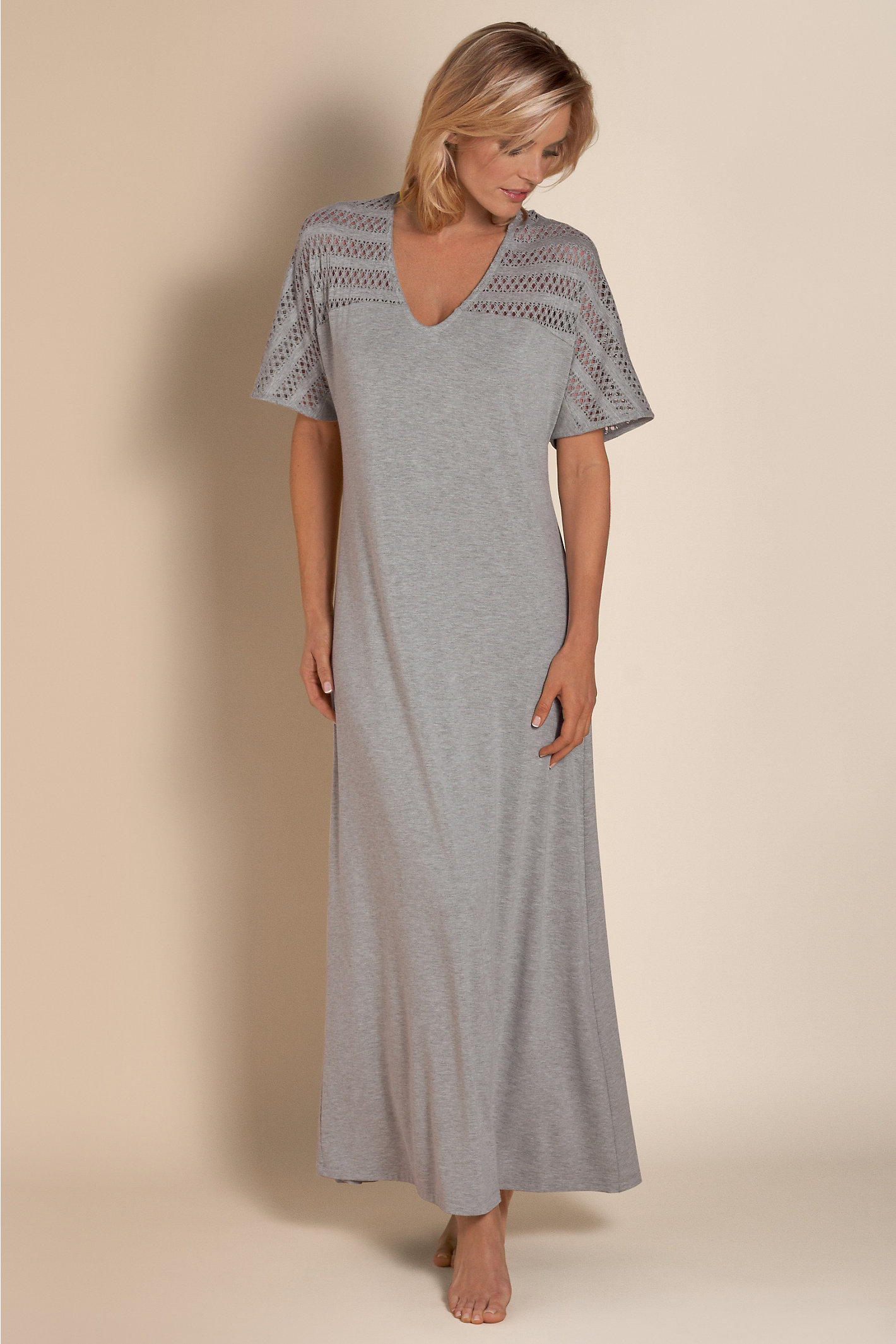 Petite Easy Knit Gown