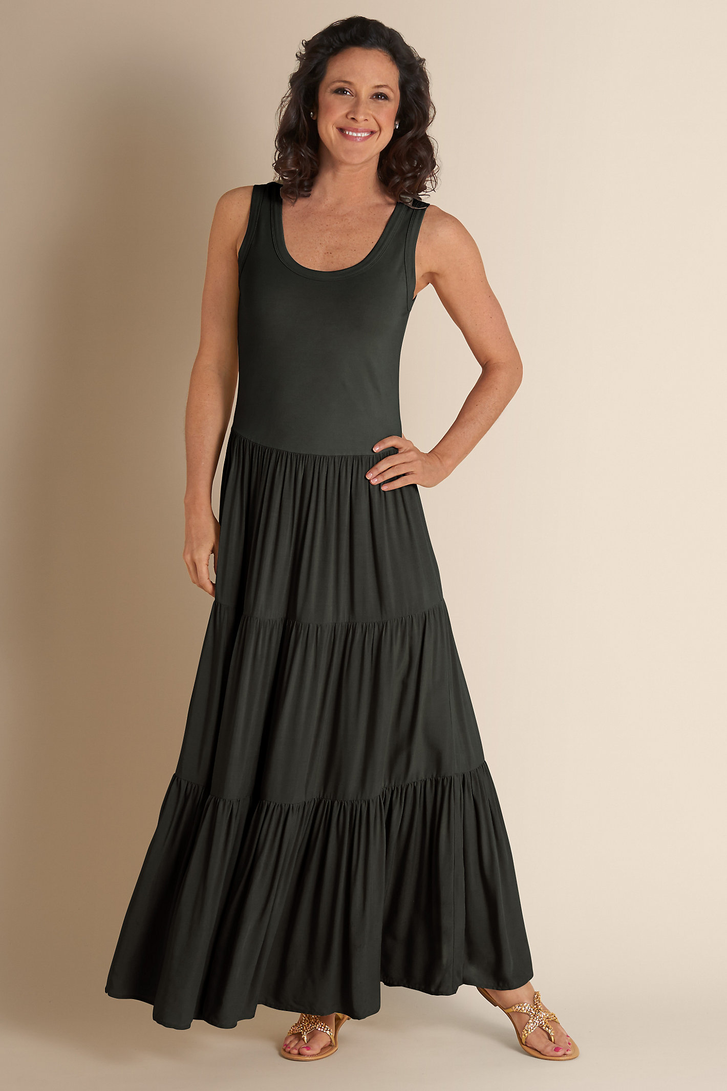 Tall Slimming Maxi Dress