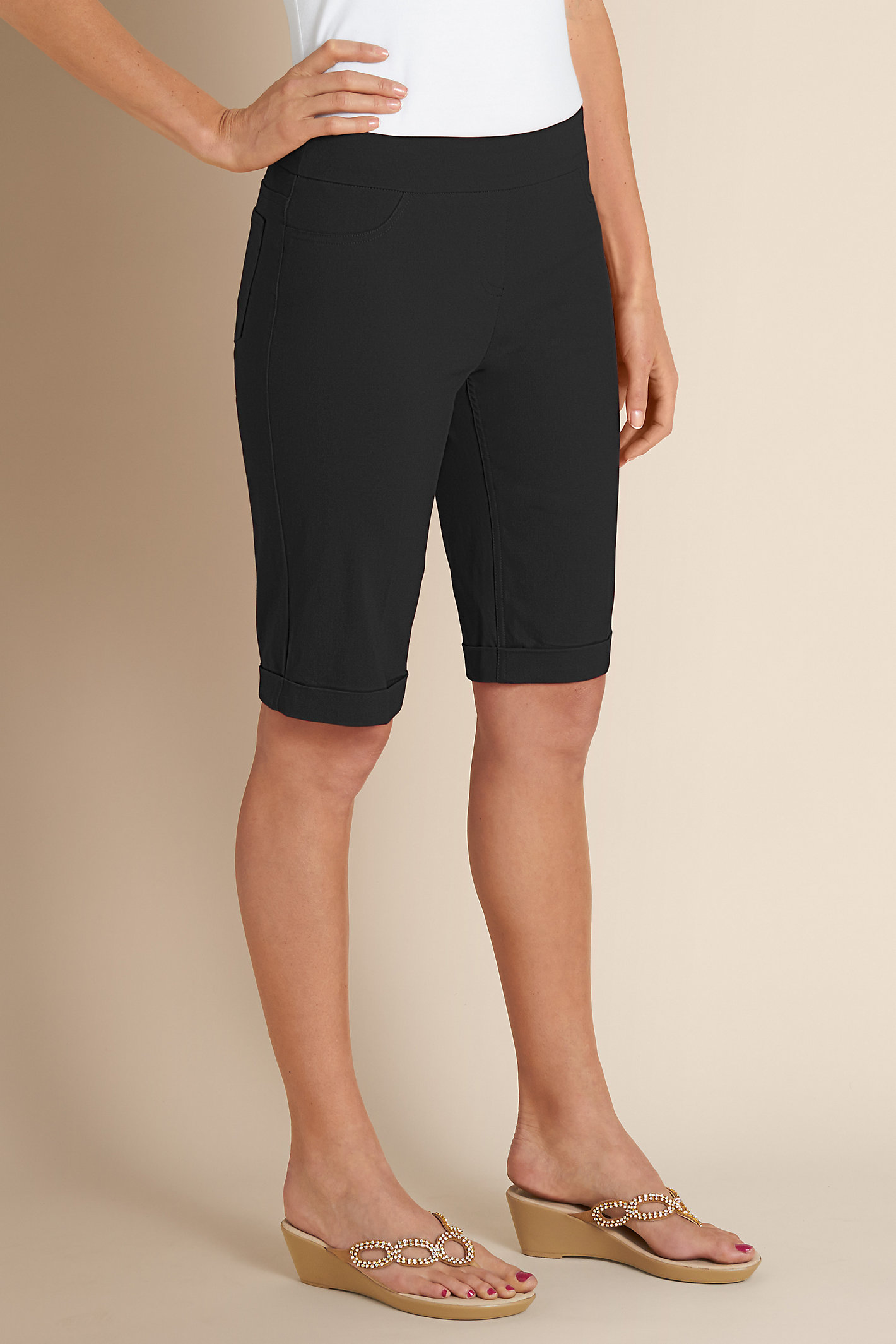 Petite Super Stretch Short