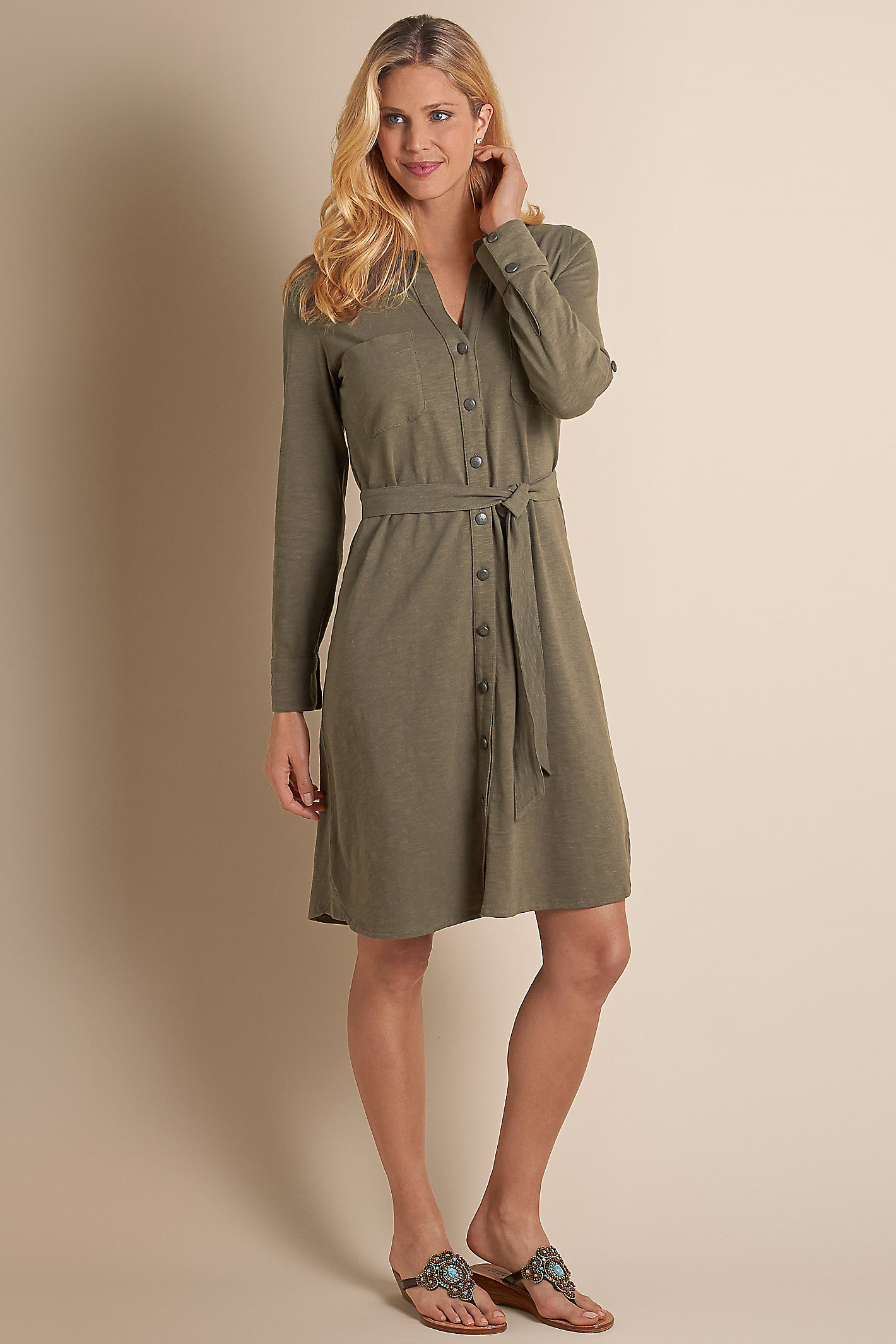 Women Effortless Knit Dress