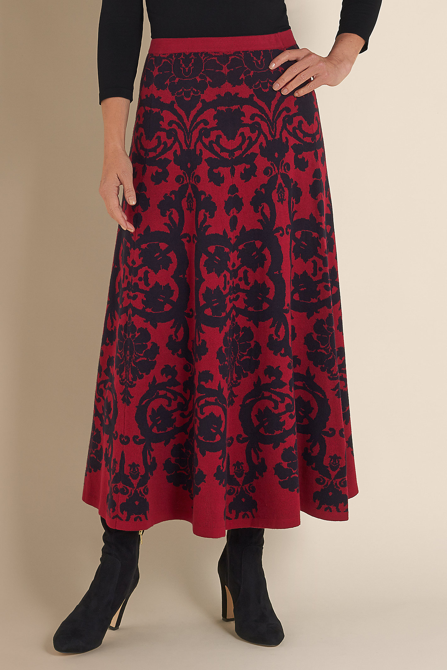 Women Jacobean Skirt
