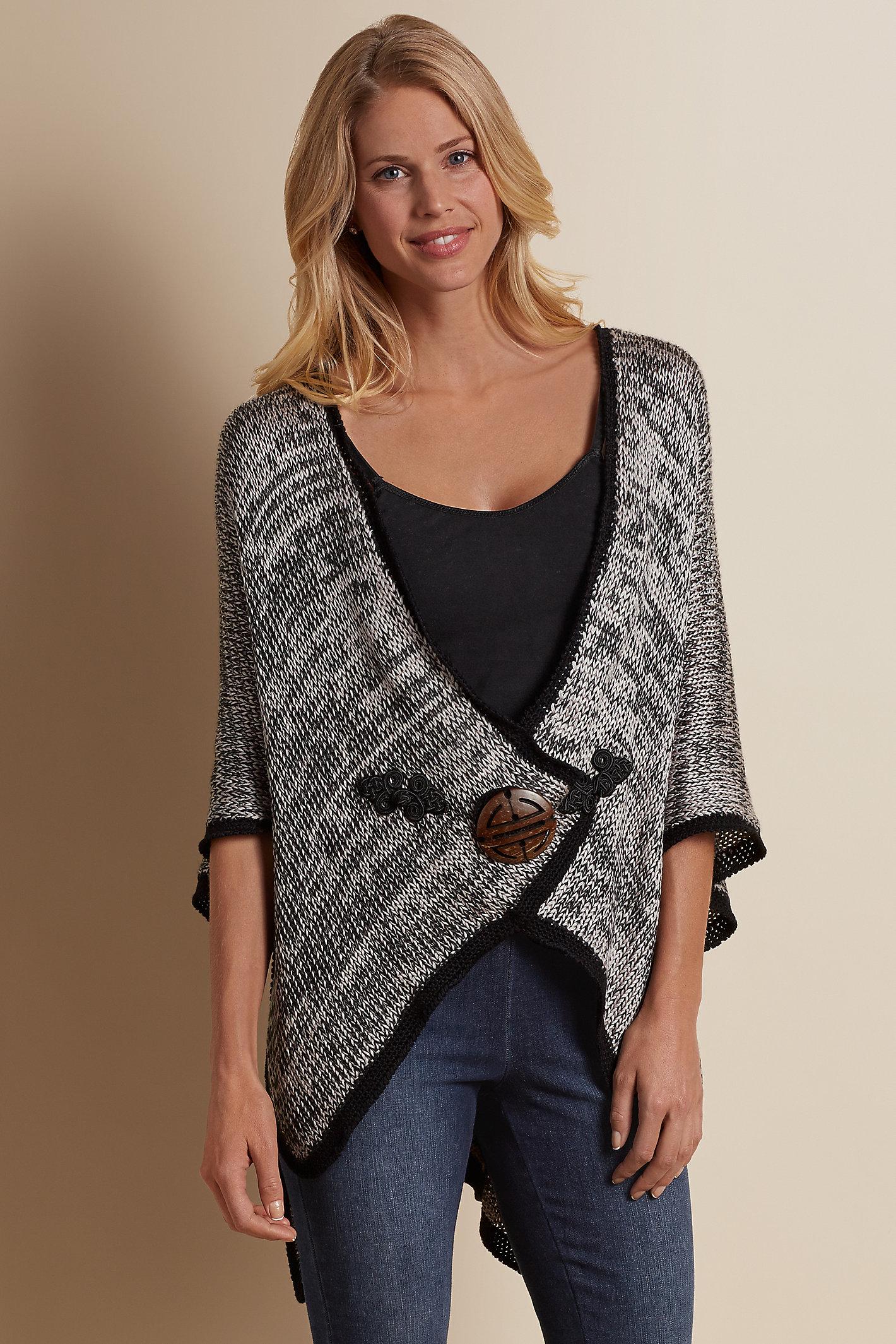 Mei Ling Cape Sweater