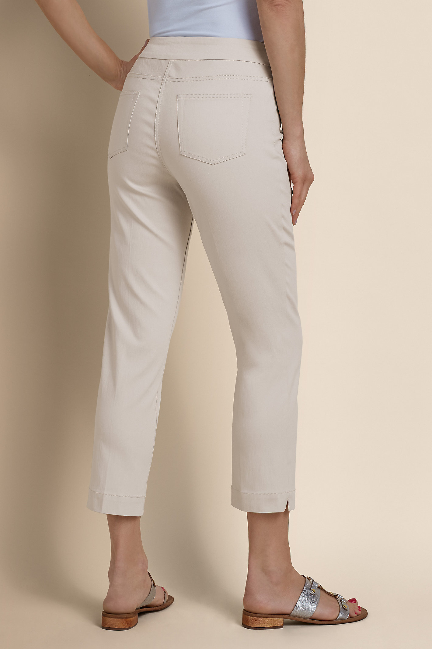Petite Super Stretch Capri