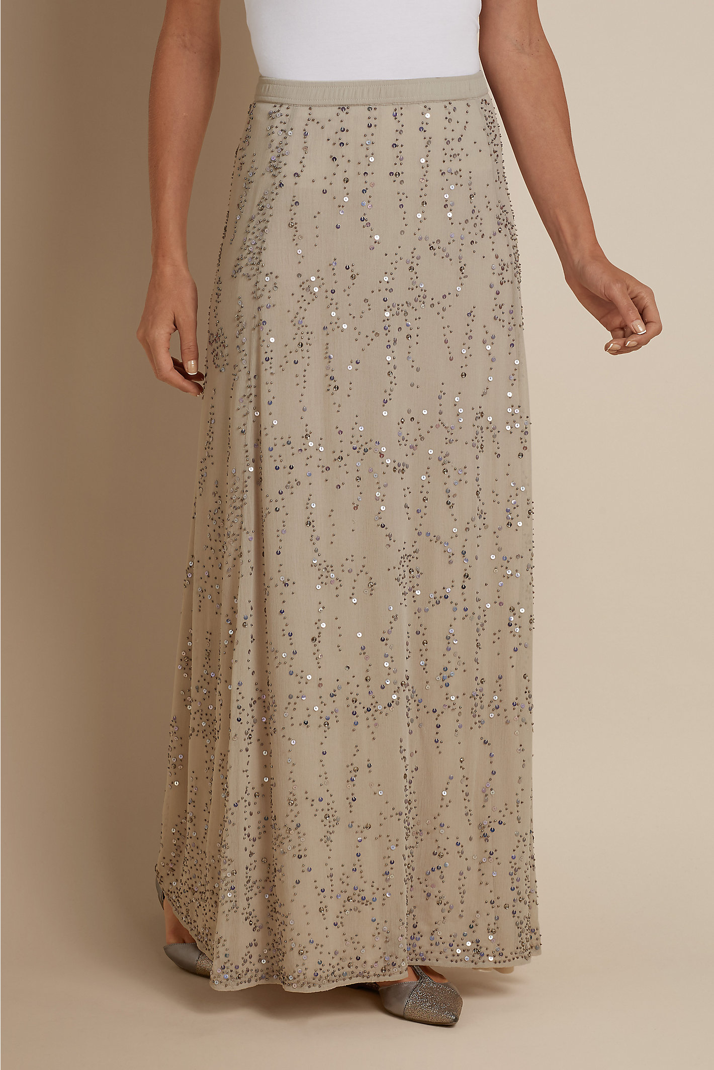 TALL CHAMPAGNE DREAMS SKIRT