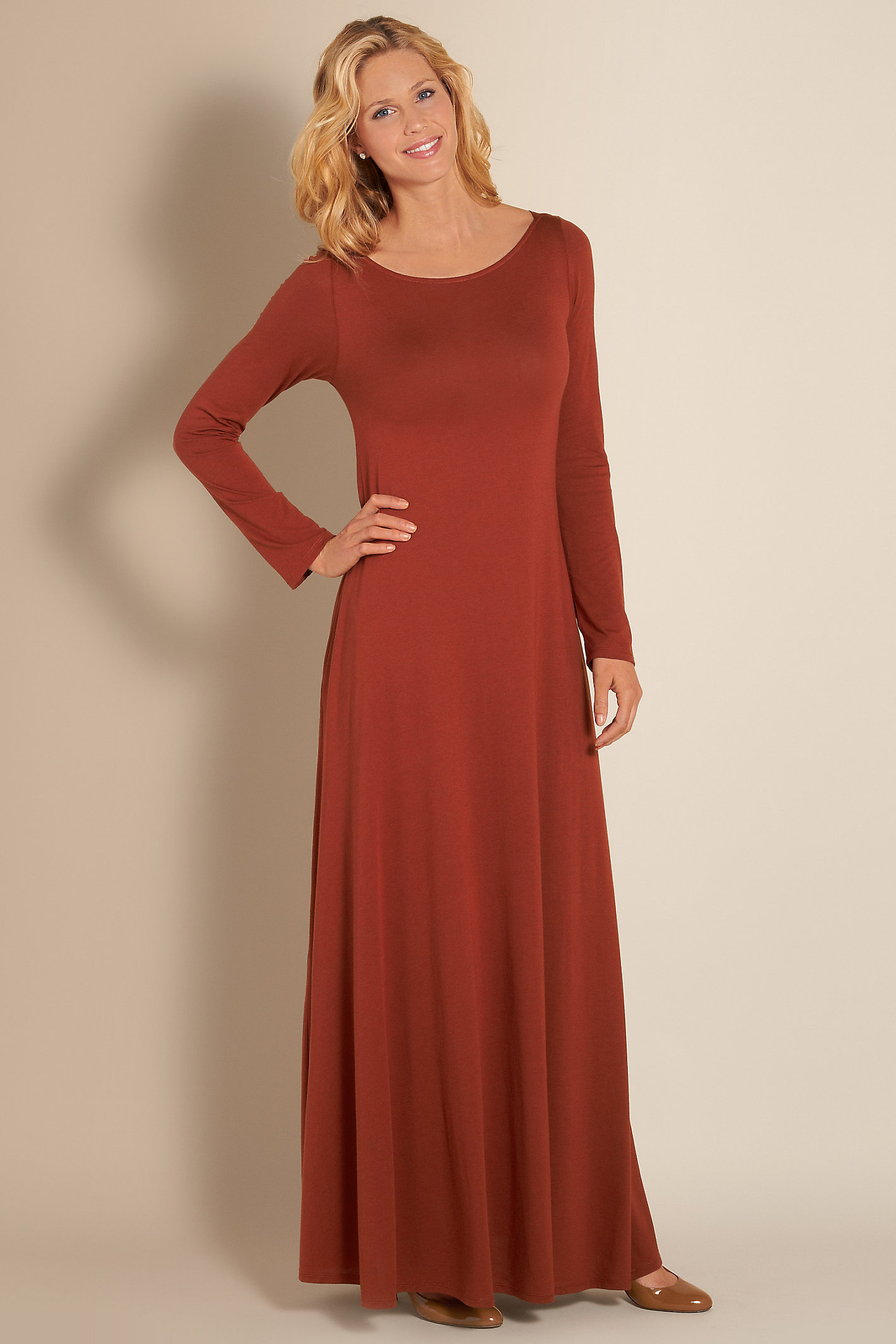 Tall Santiago Boatneck Dress