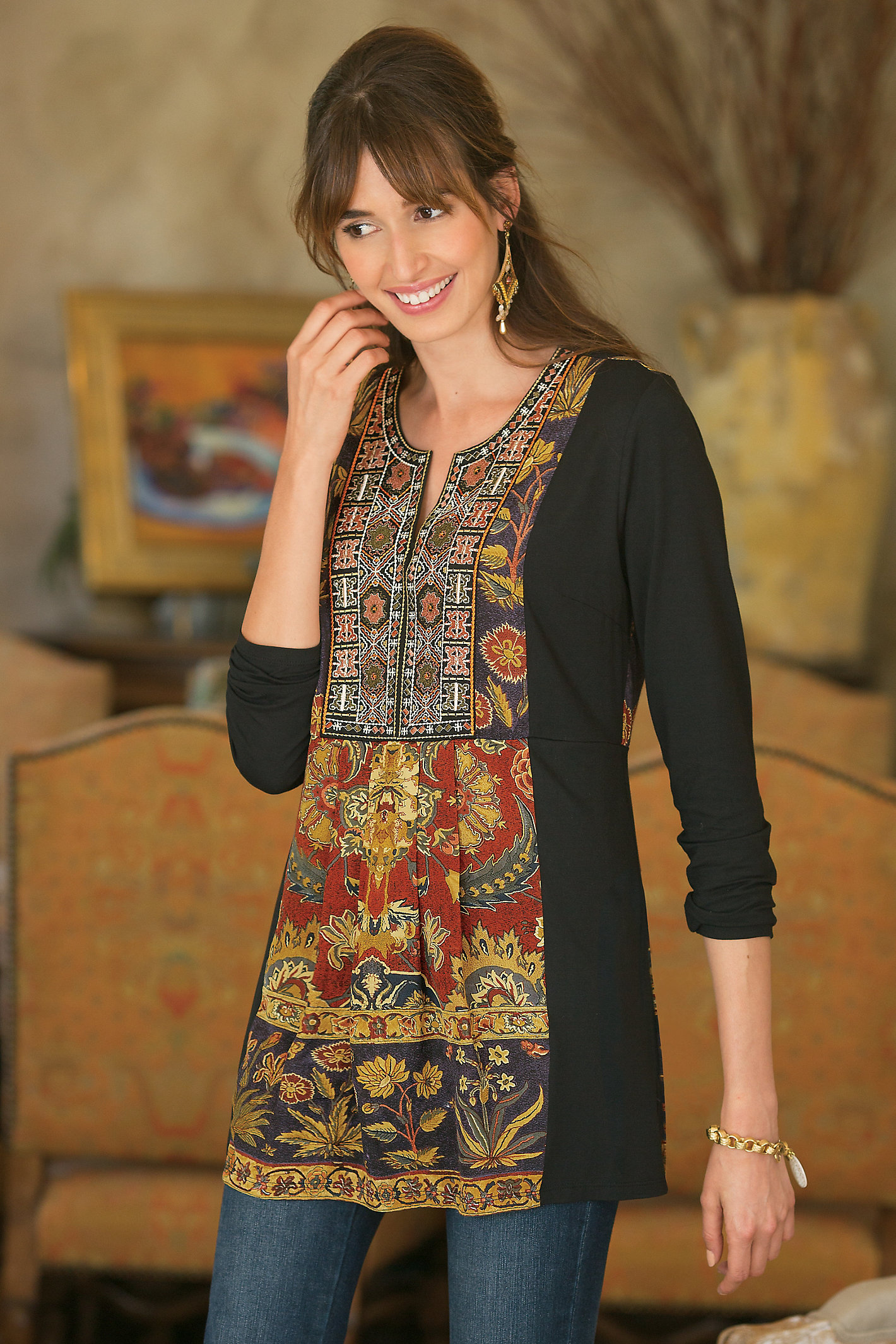 WOMEN DESERT MIRAGE TUNIC