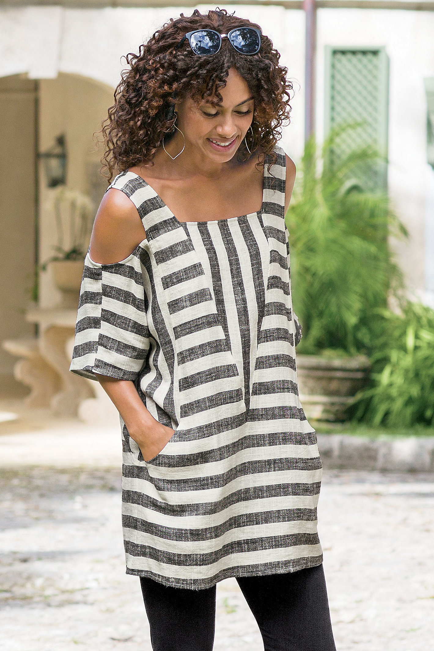 Women Sunset Tunic