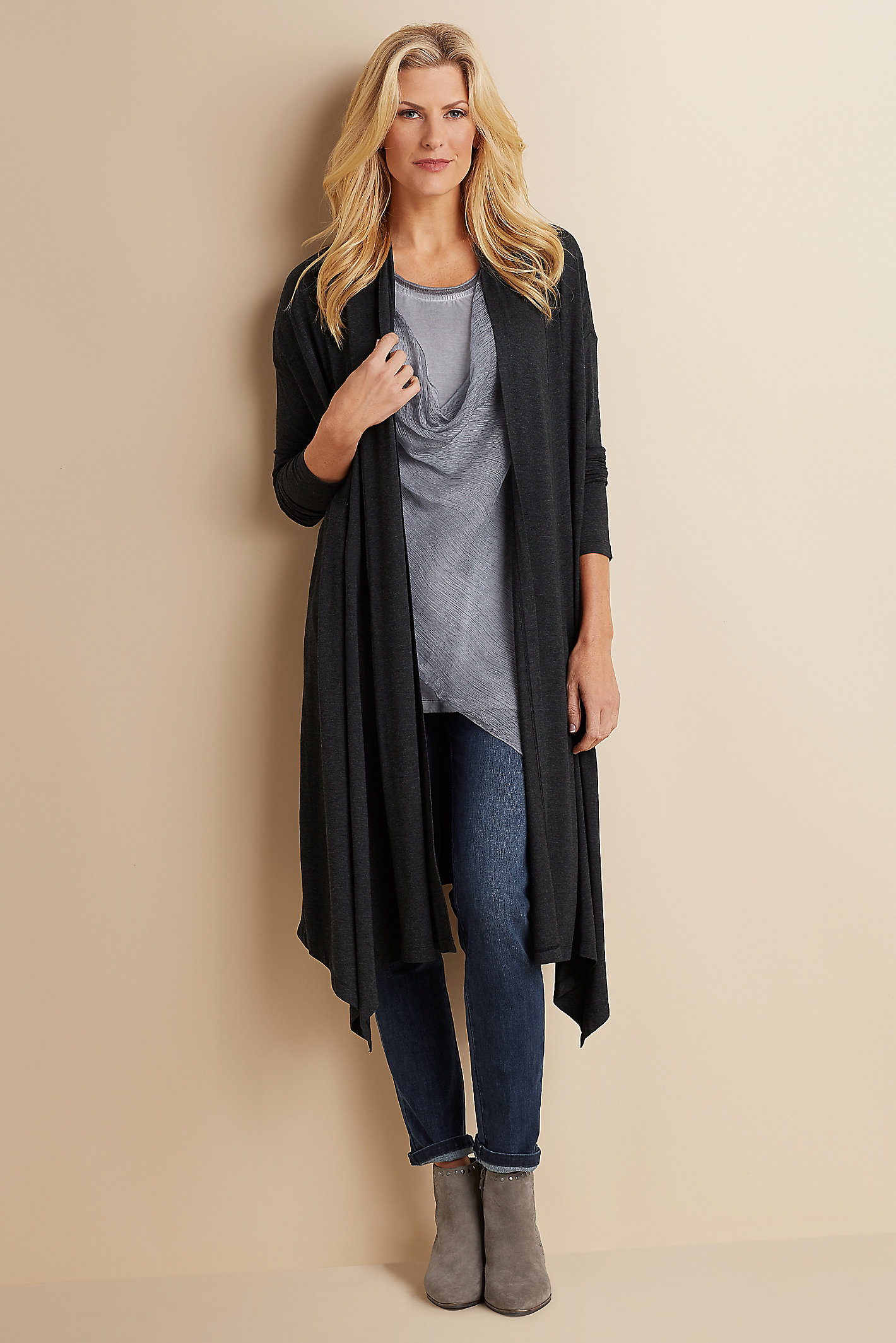 WOMEN FEATHERWEIGHT DUSTER