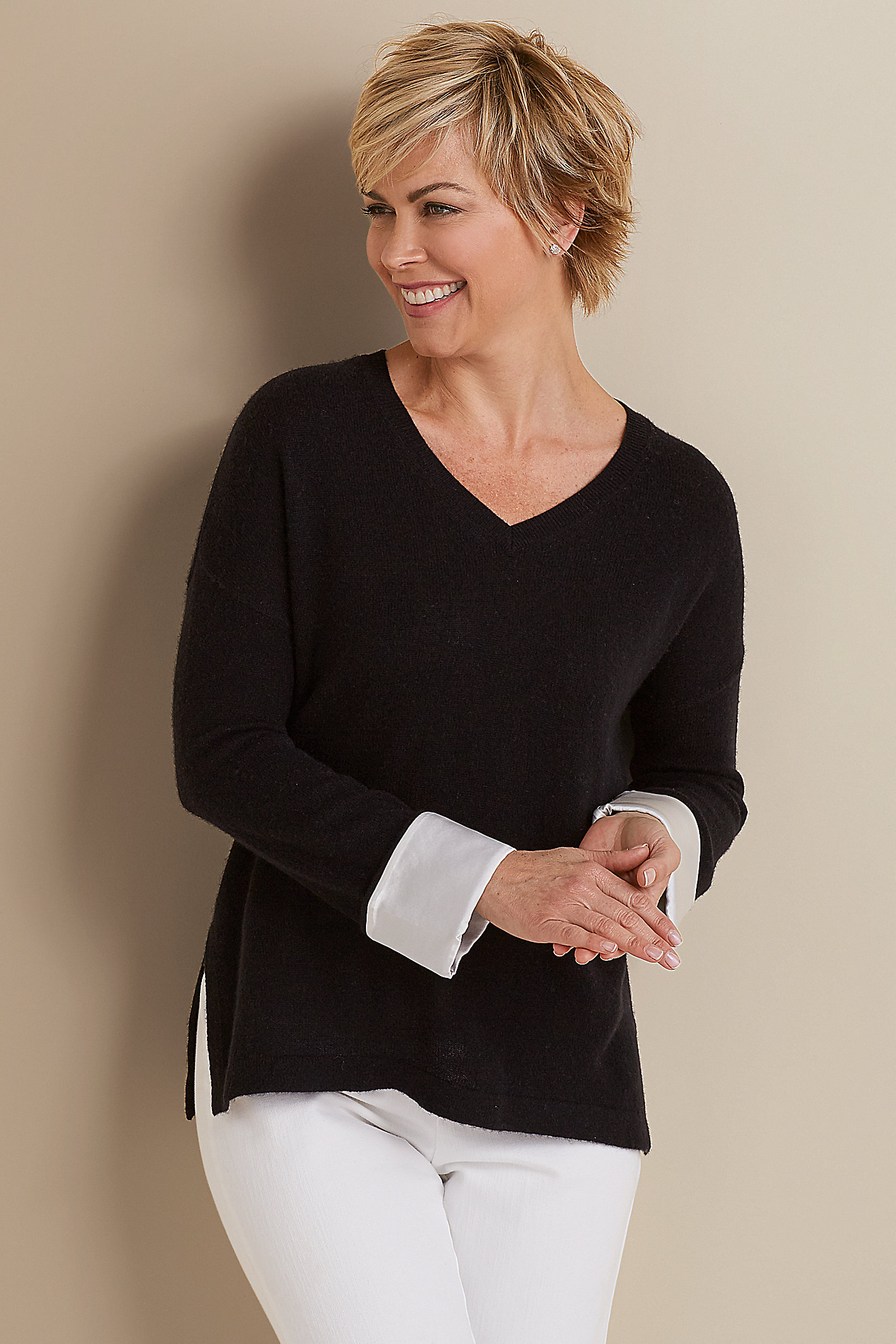 EFFORTLESS CASHMERE SWEATER