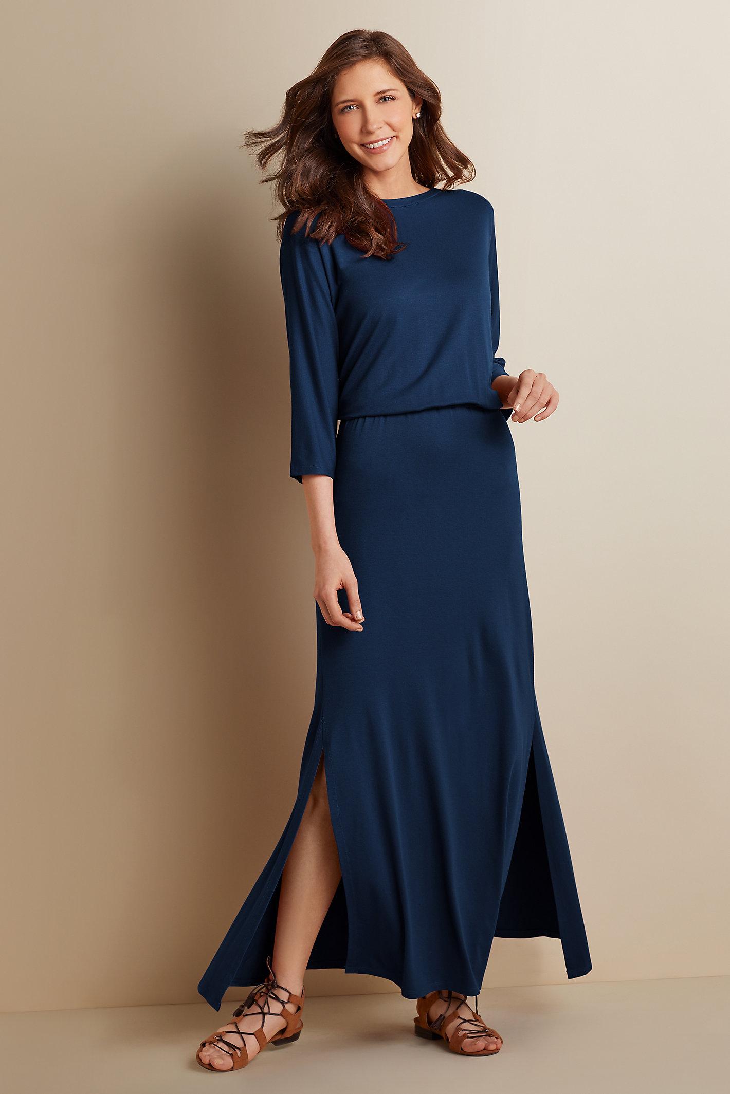 WOMEN SLOANE BLOUSON DRESS