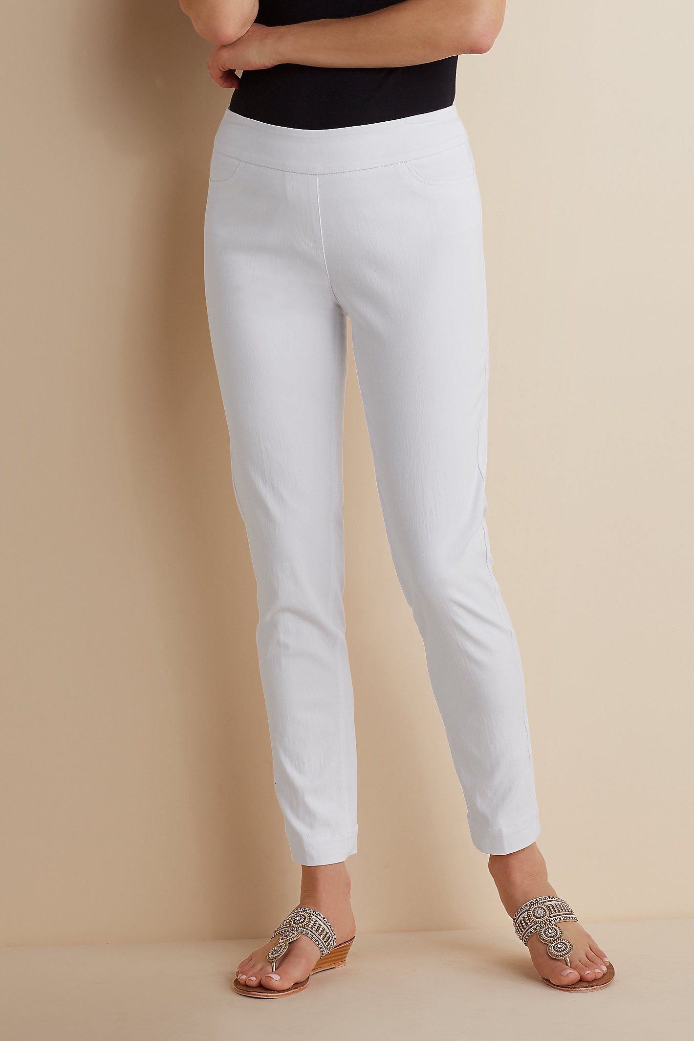 PT SUPER STRETCH ANKLE PANTS