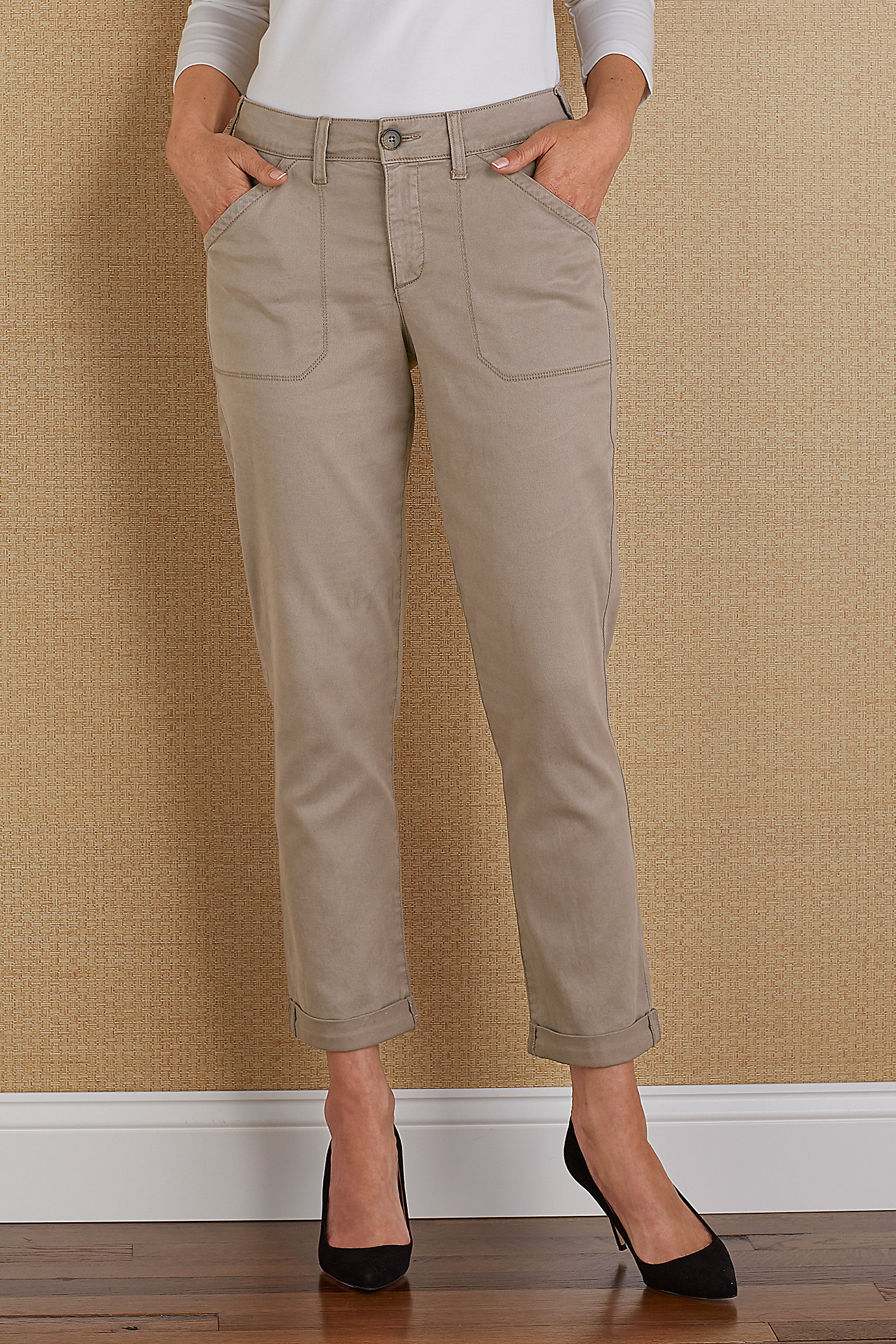 NYDJ REESE RELAXED TROUSER