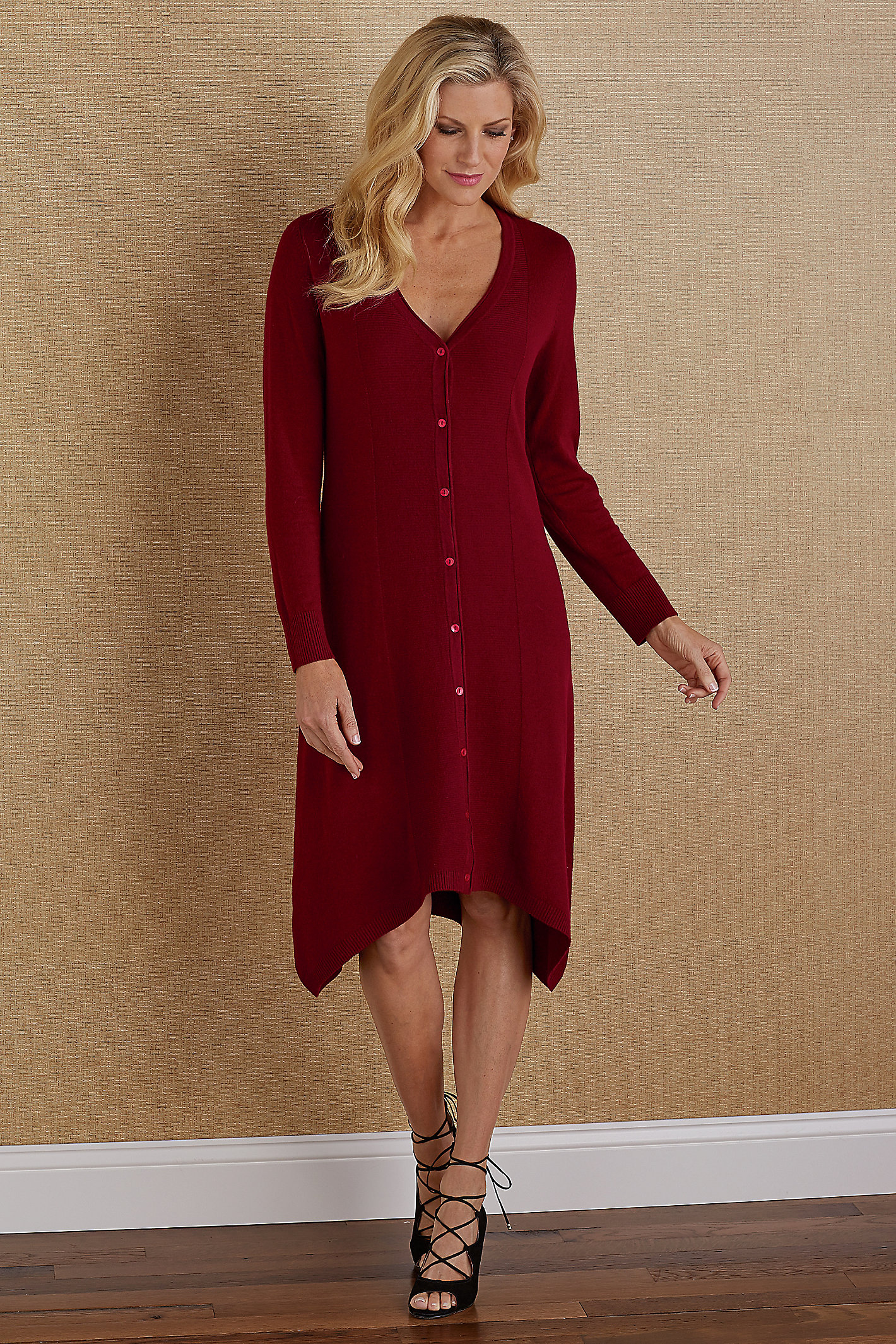 SAVANNAH SWEATER DRESS