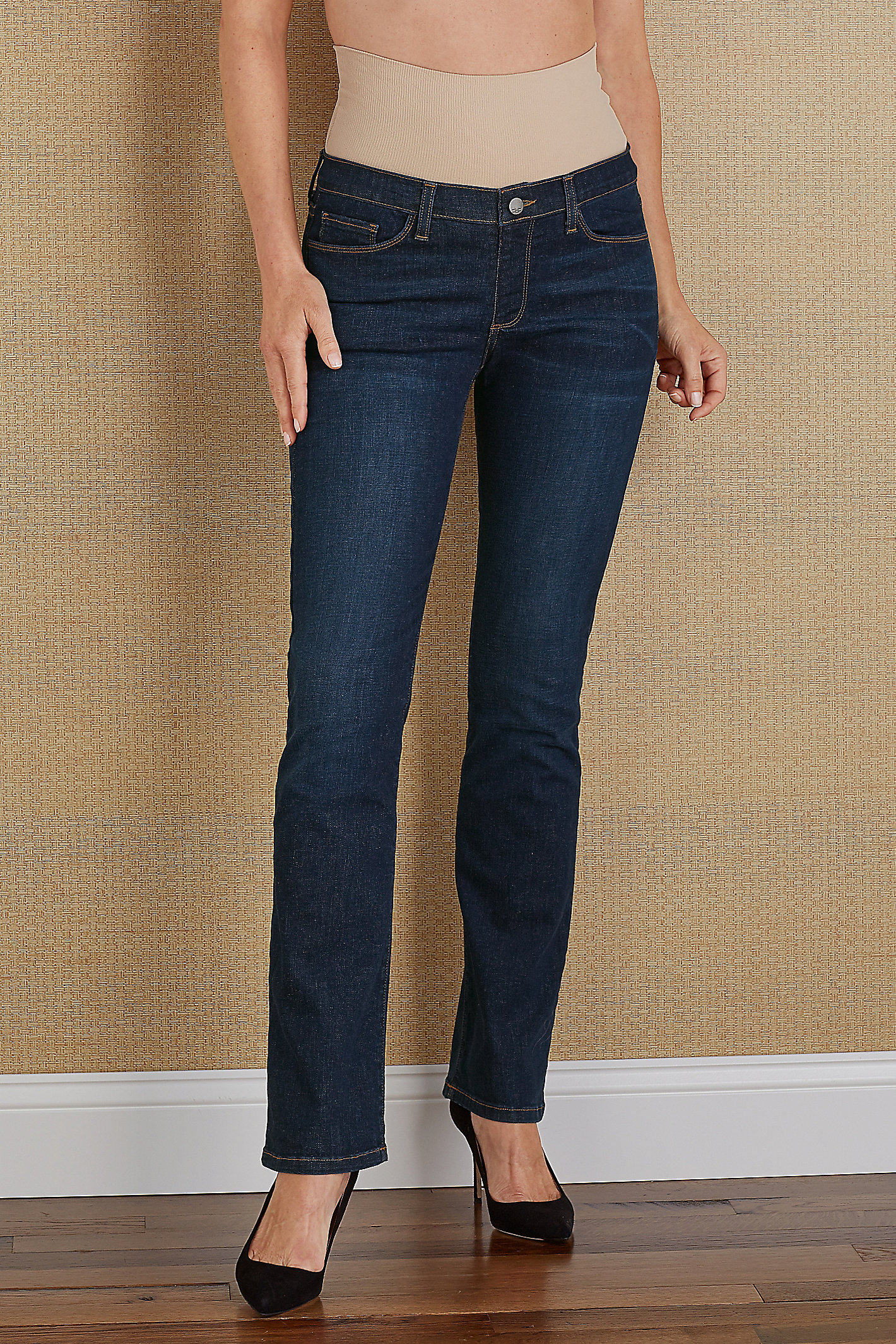 BOOTCUT TUMMY TRIMMER JEANS