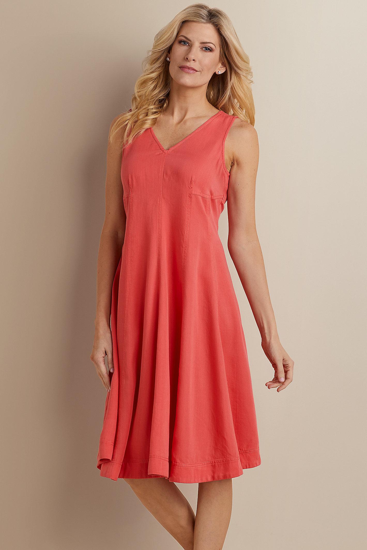 Take A Twirl Tencel Dress