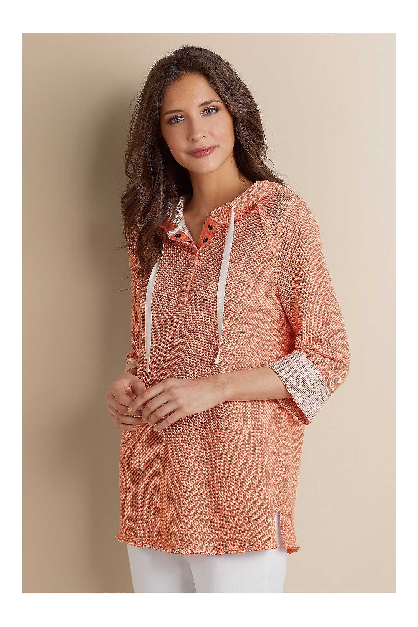 Petite Just Beachy Pullover