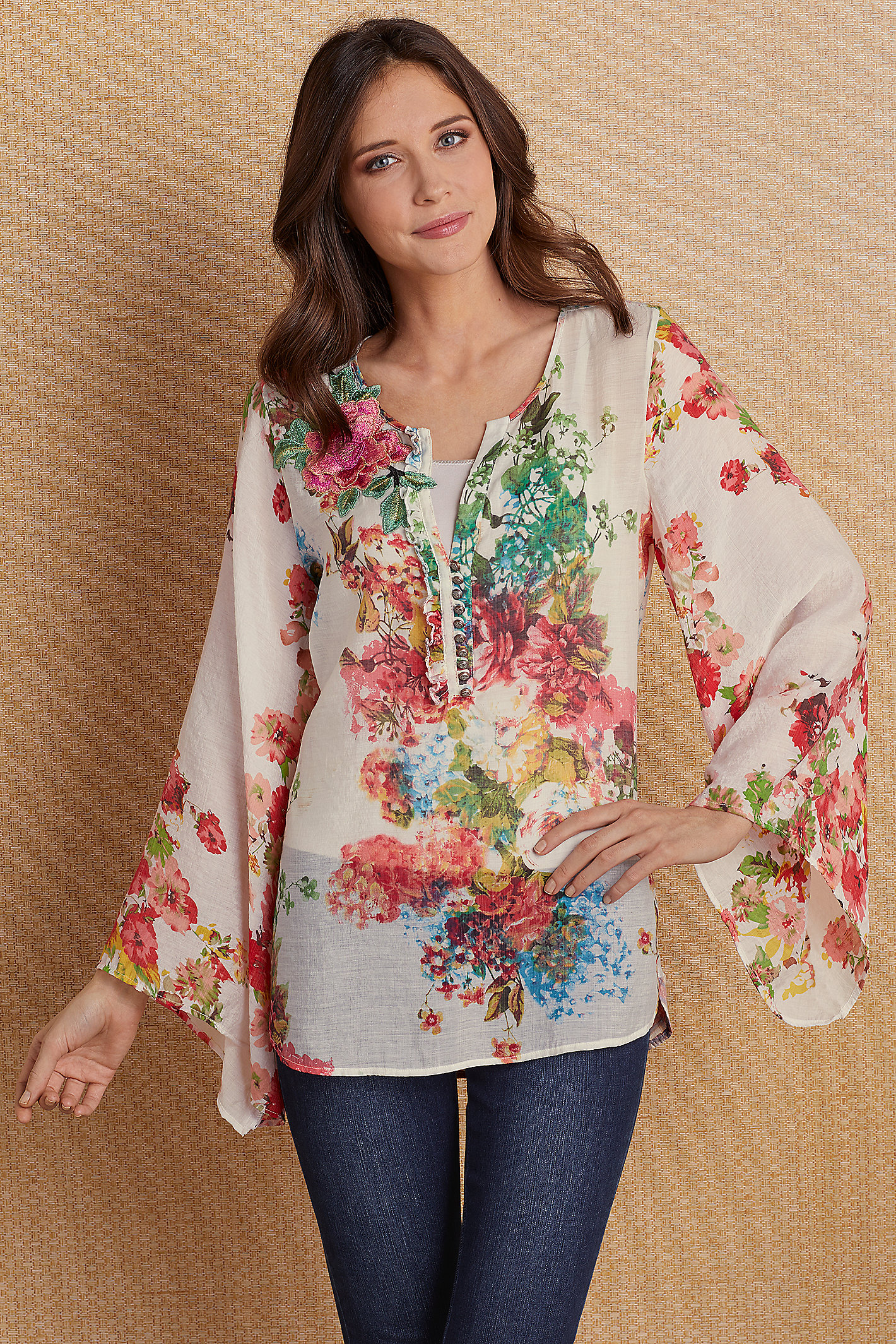 Flower District Tunic