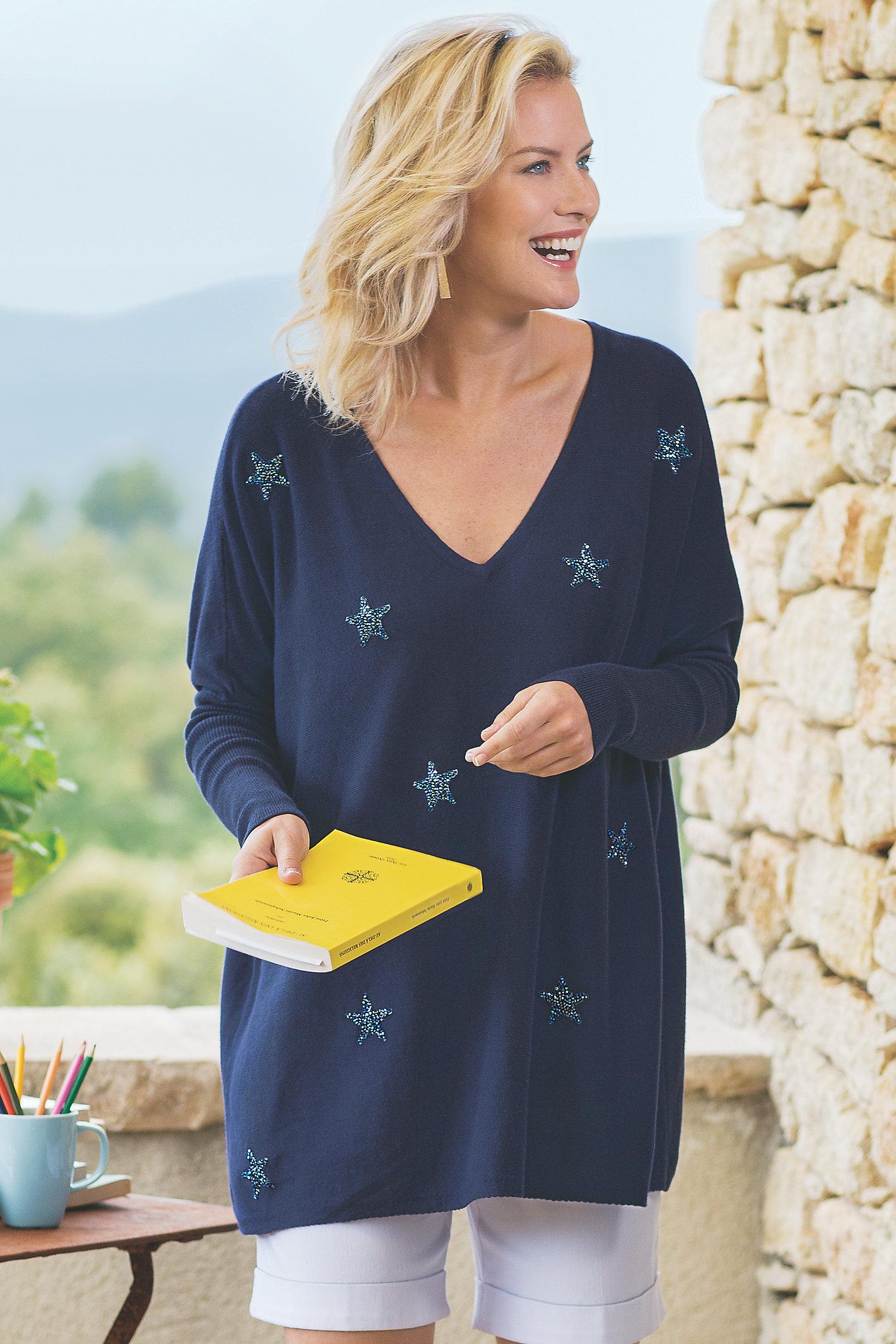Women Starry Dreams Sweater