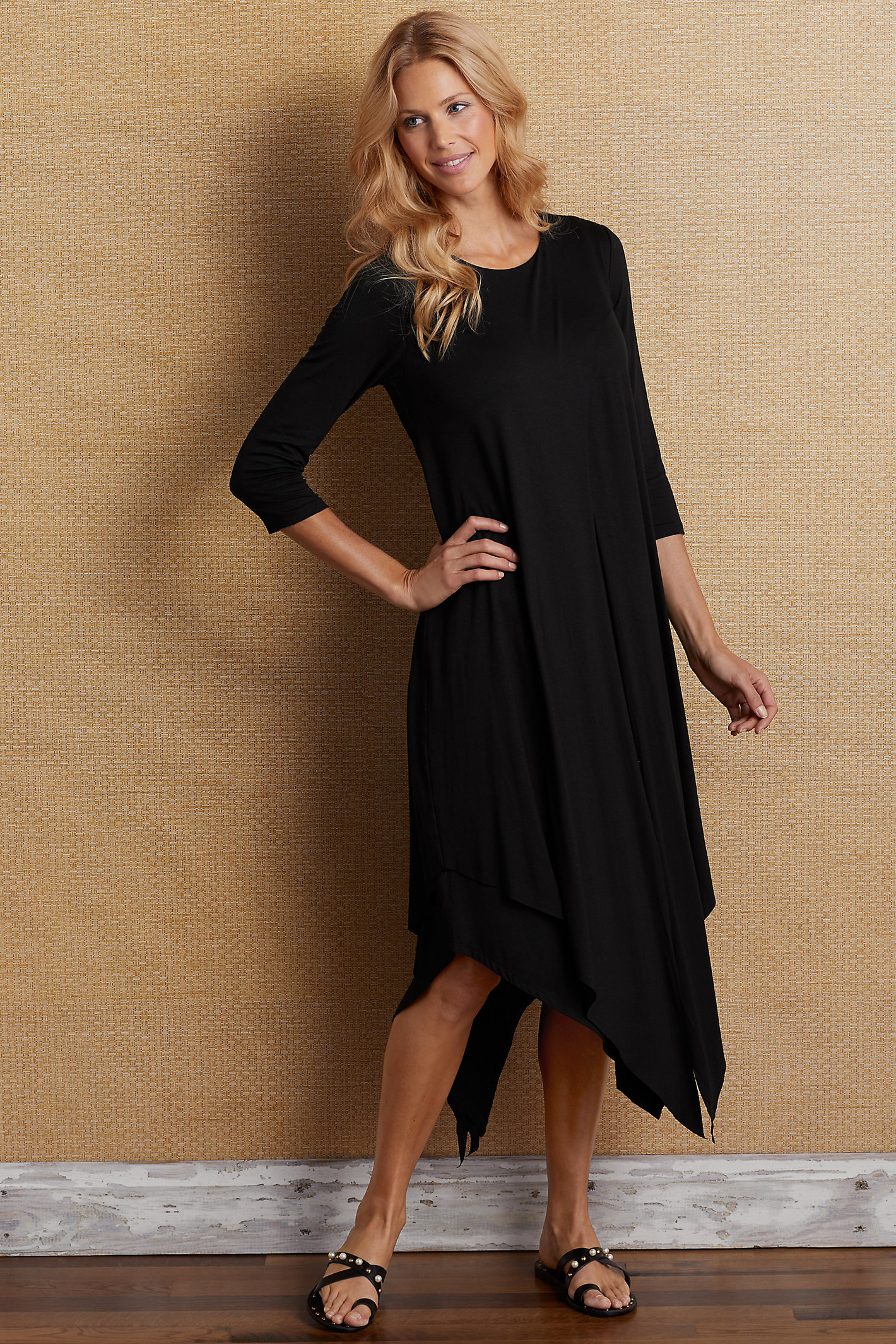 Alexandra 3/4 Sleeve Dress