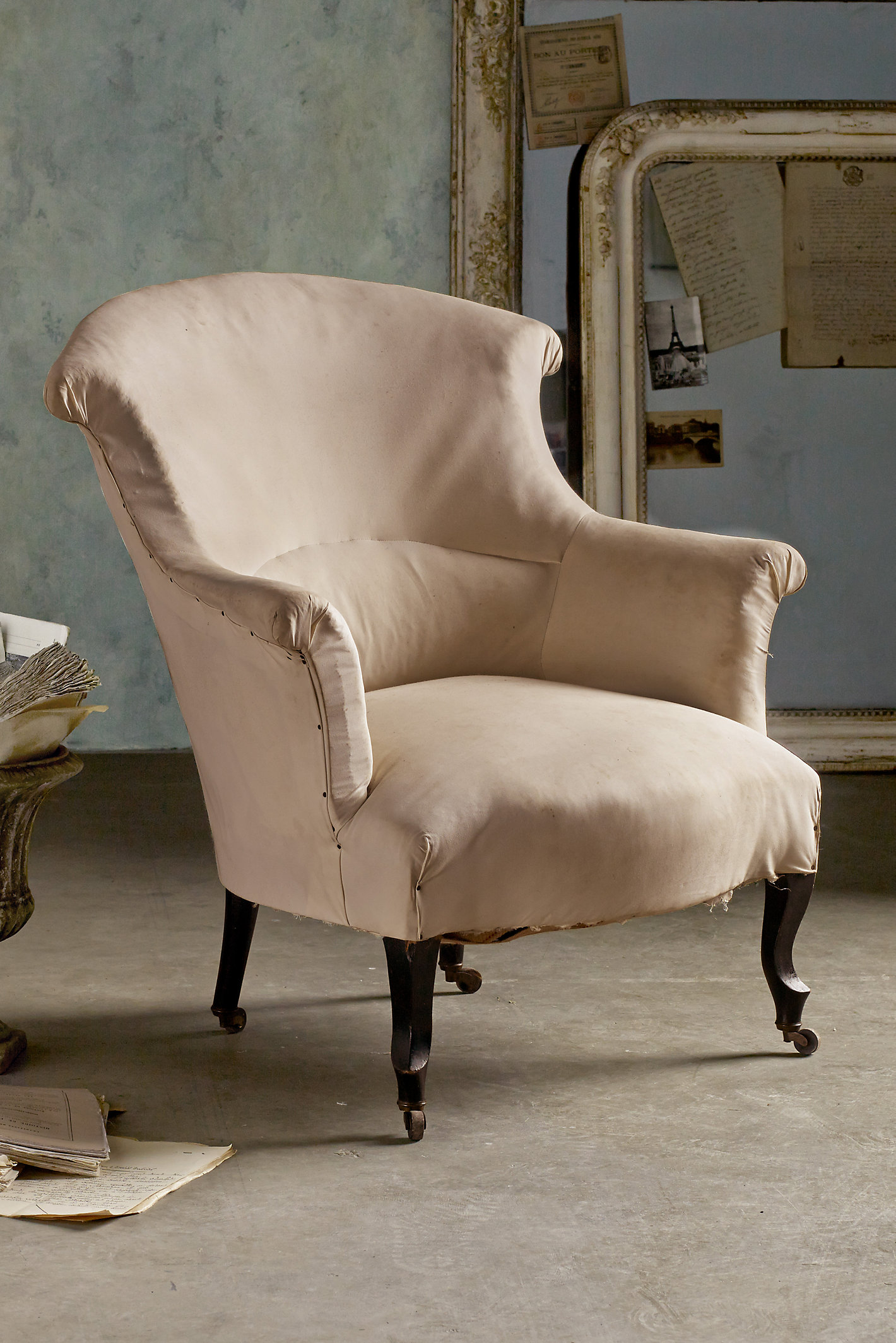 Rouleau Scroll Back Chairs