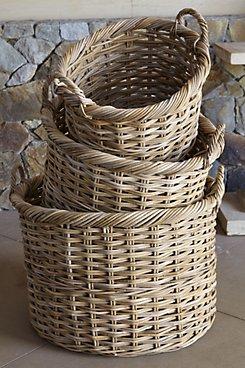 Hatteras Rattan Baskets