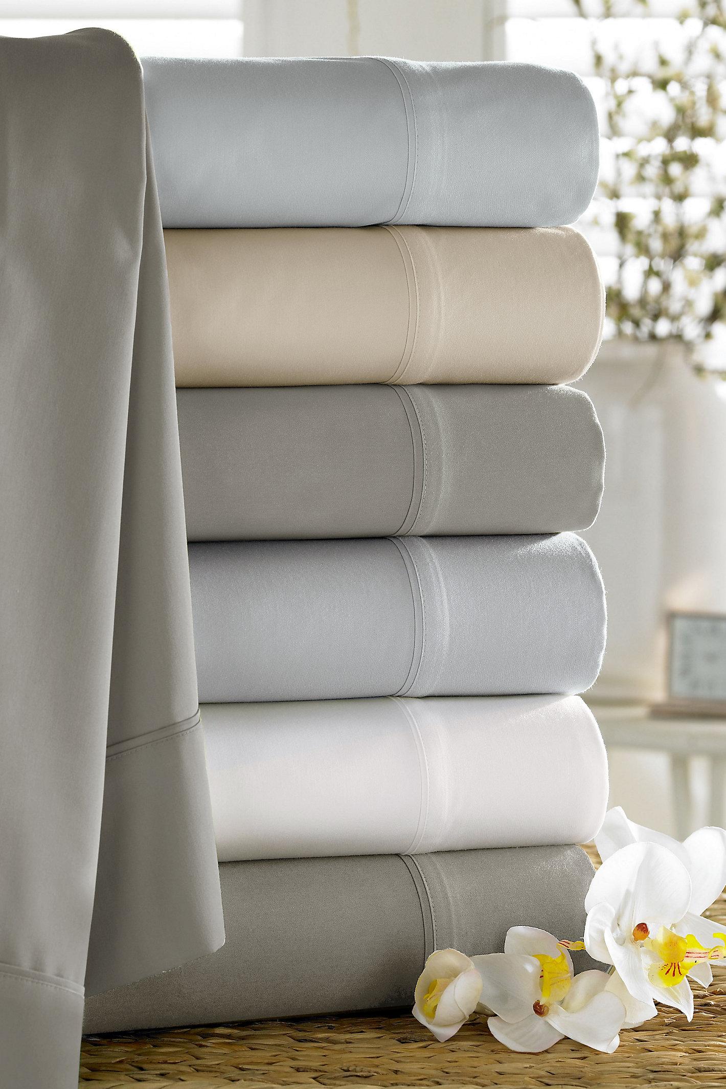 Luxury Bamboo Pillowcase Pair
