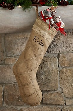 Lattice Jute Stocking