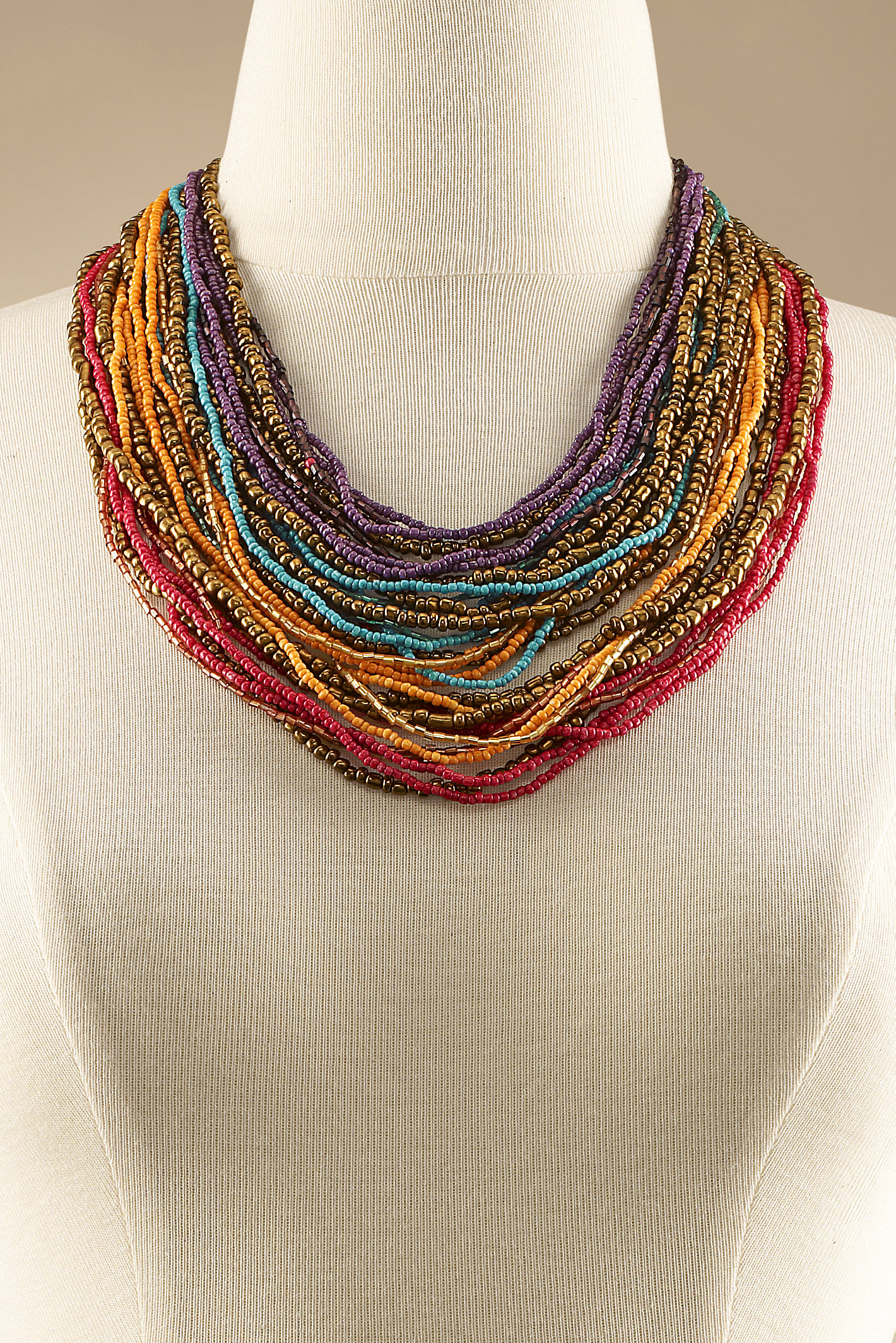 Layers Of Colors Necklace
