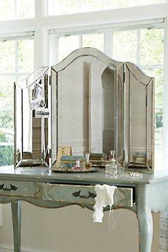 Brigitte Tri-fold Mirror