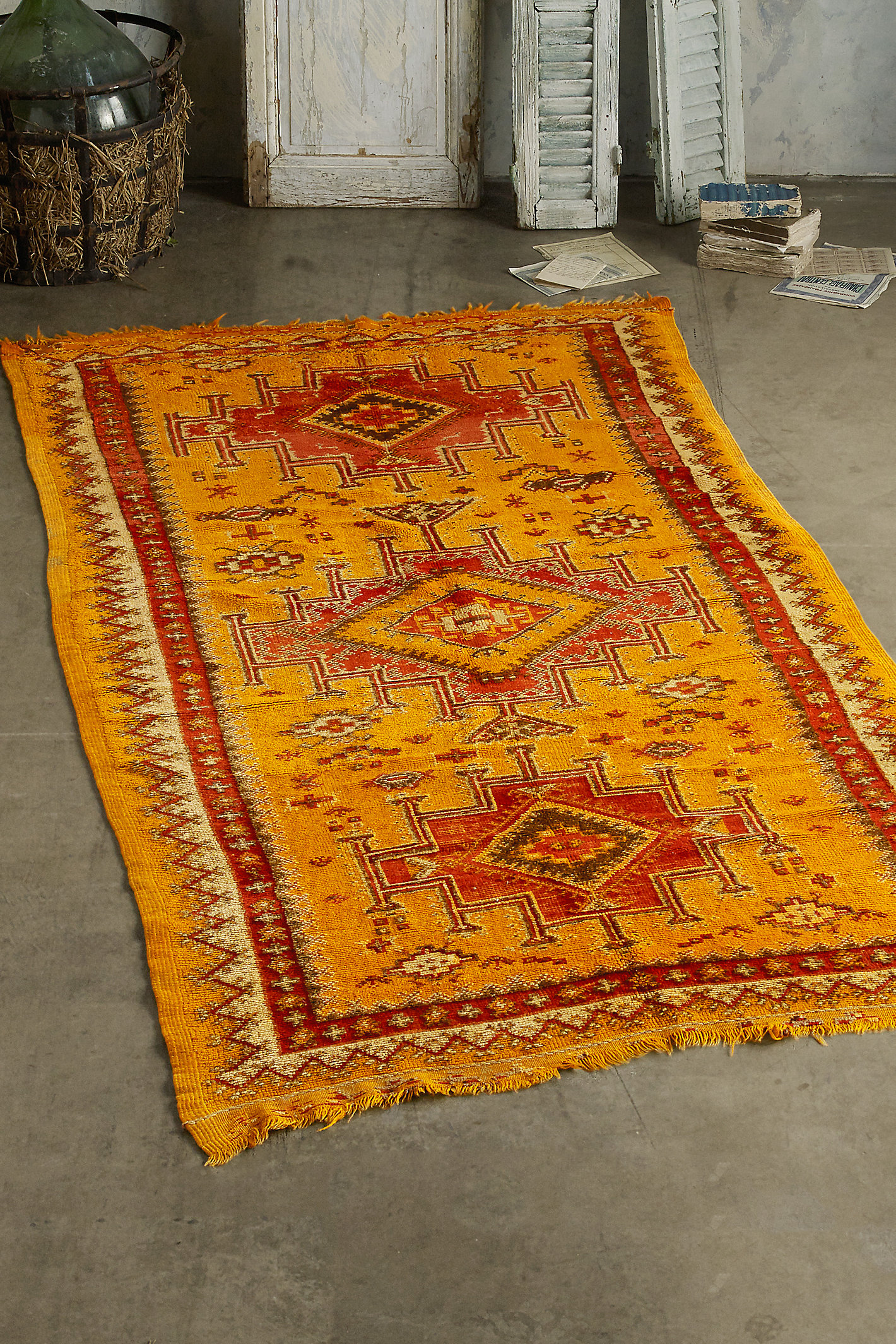 Antique Larache Rug
