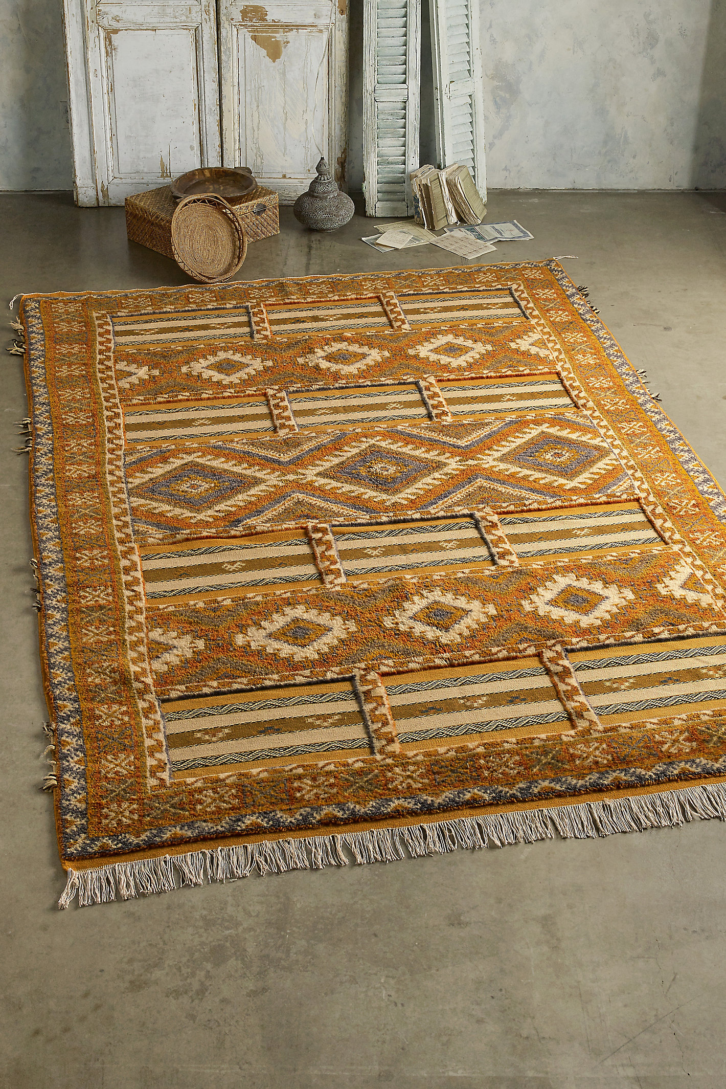 Antique Ifrane Rug