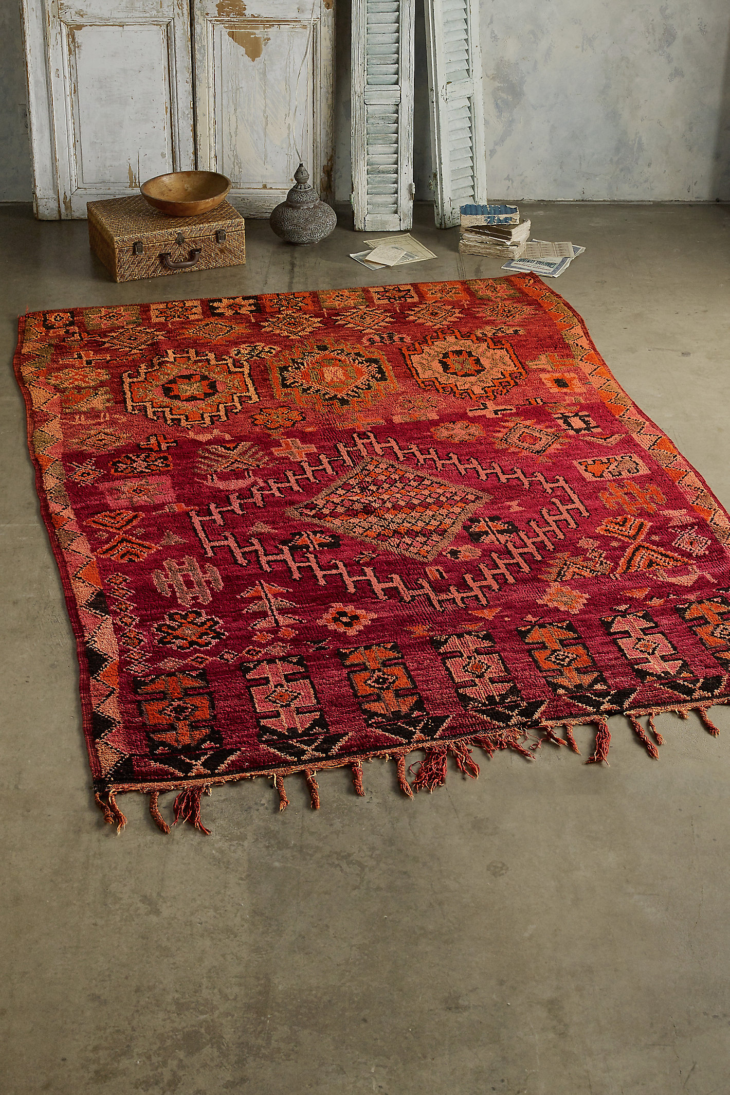 Antique Boulemane Rug
