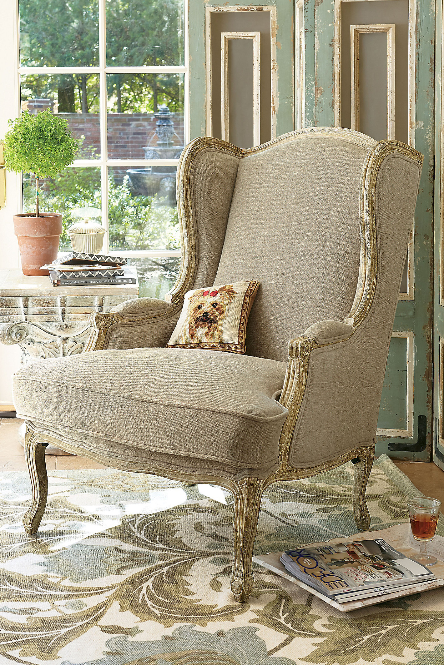 LIMOGES LADIES CHAIR