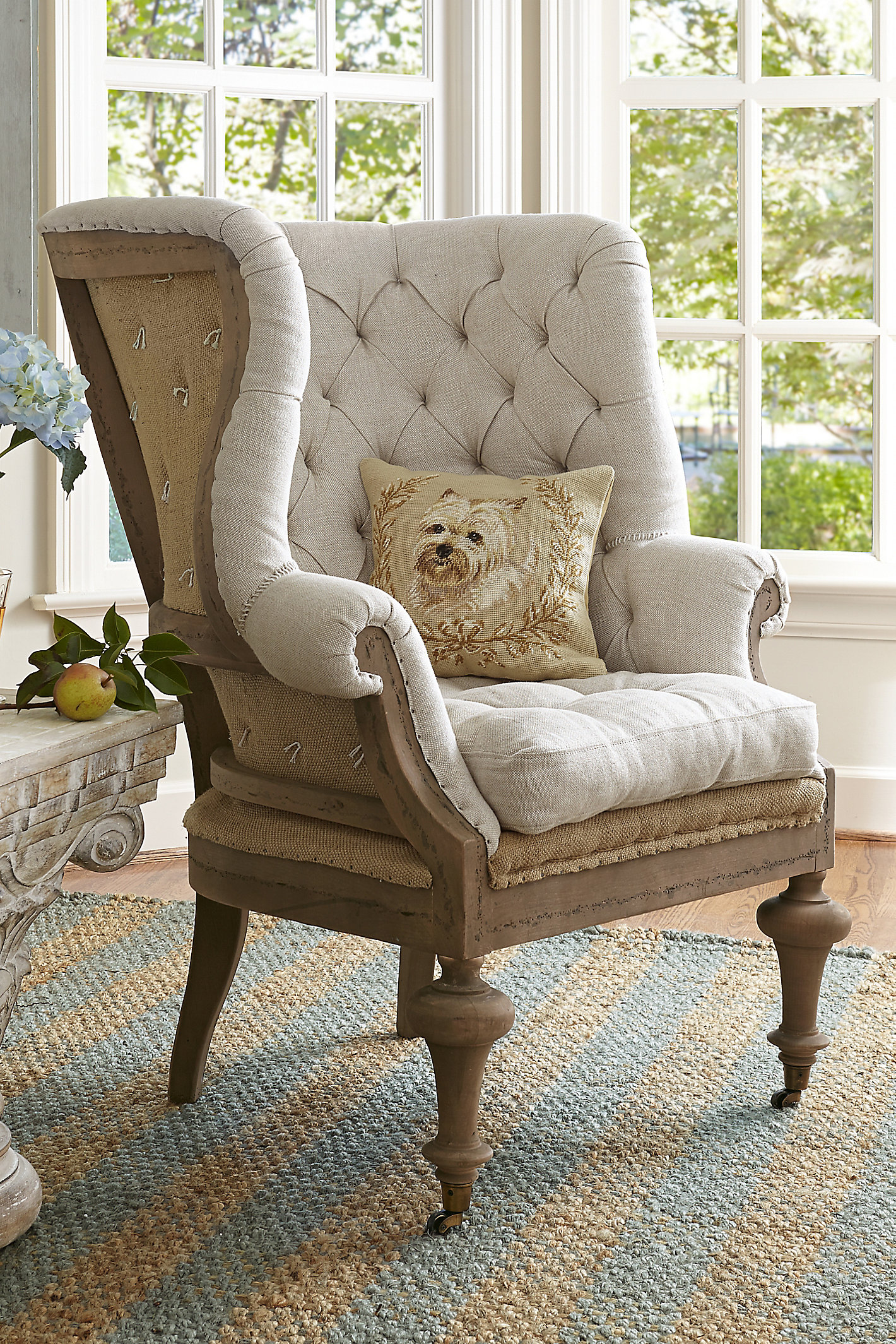 FONTAINE WINGBACK CHAIR