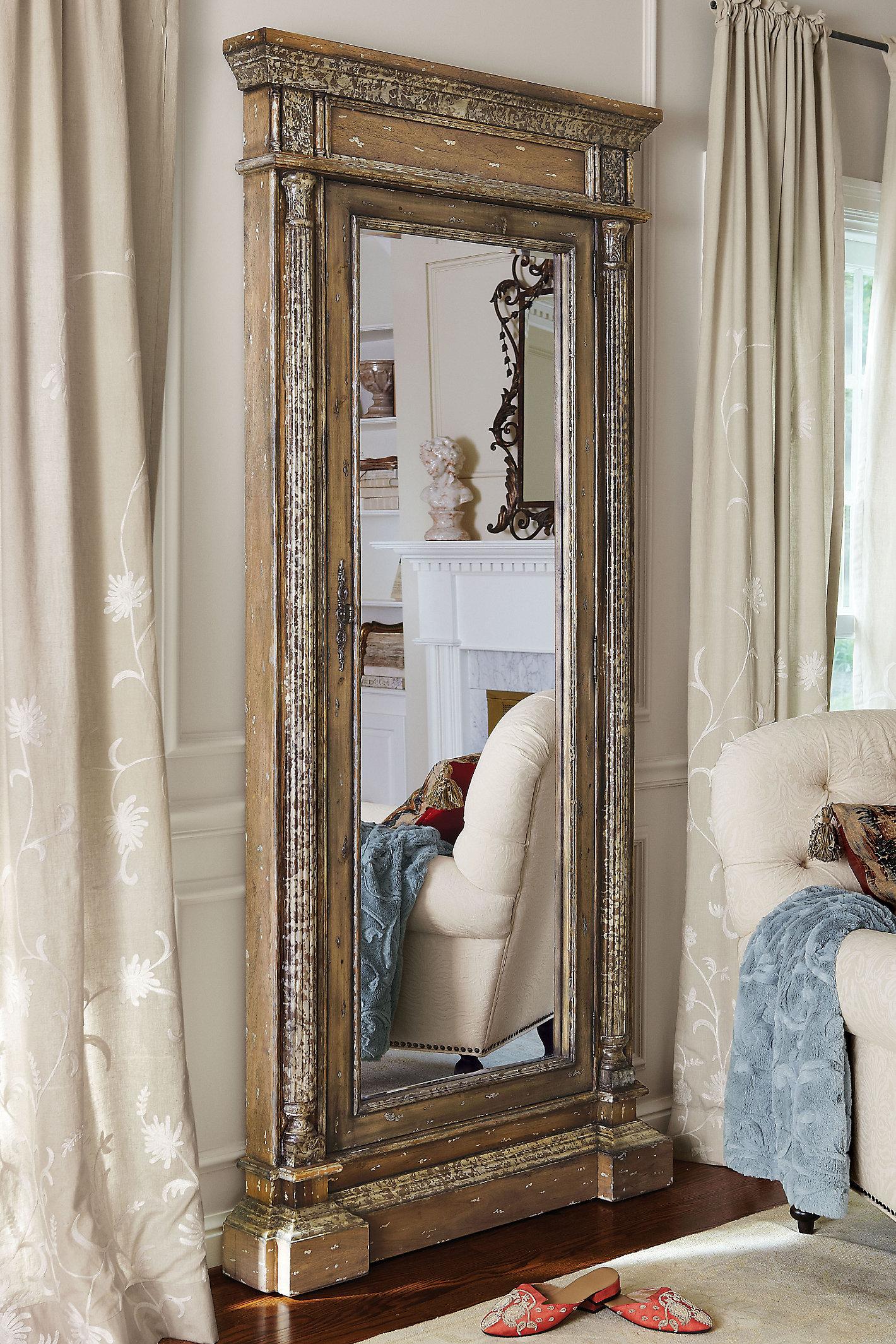 Mirrored Jewel Safe