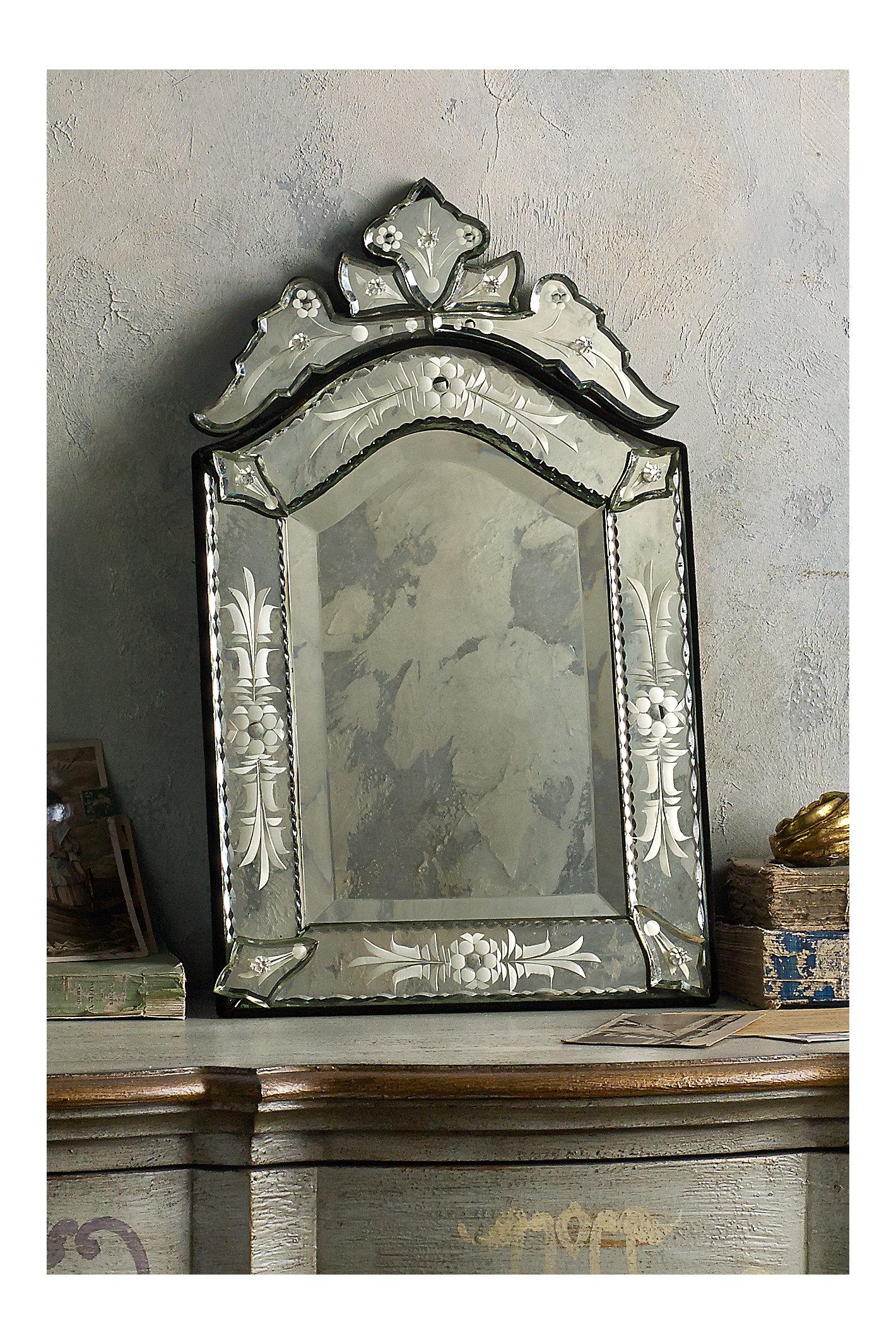 Petite Venetian Mirror