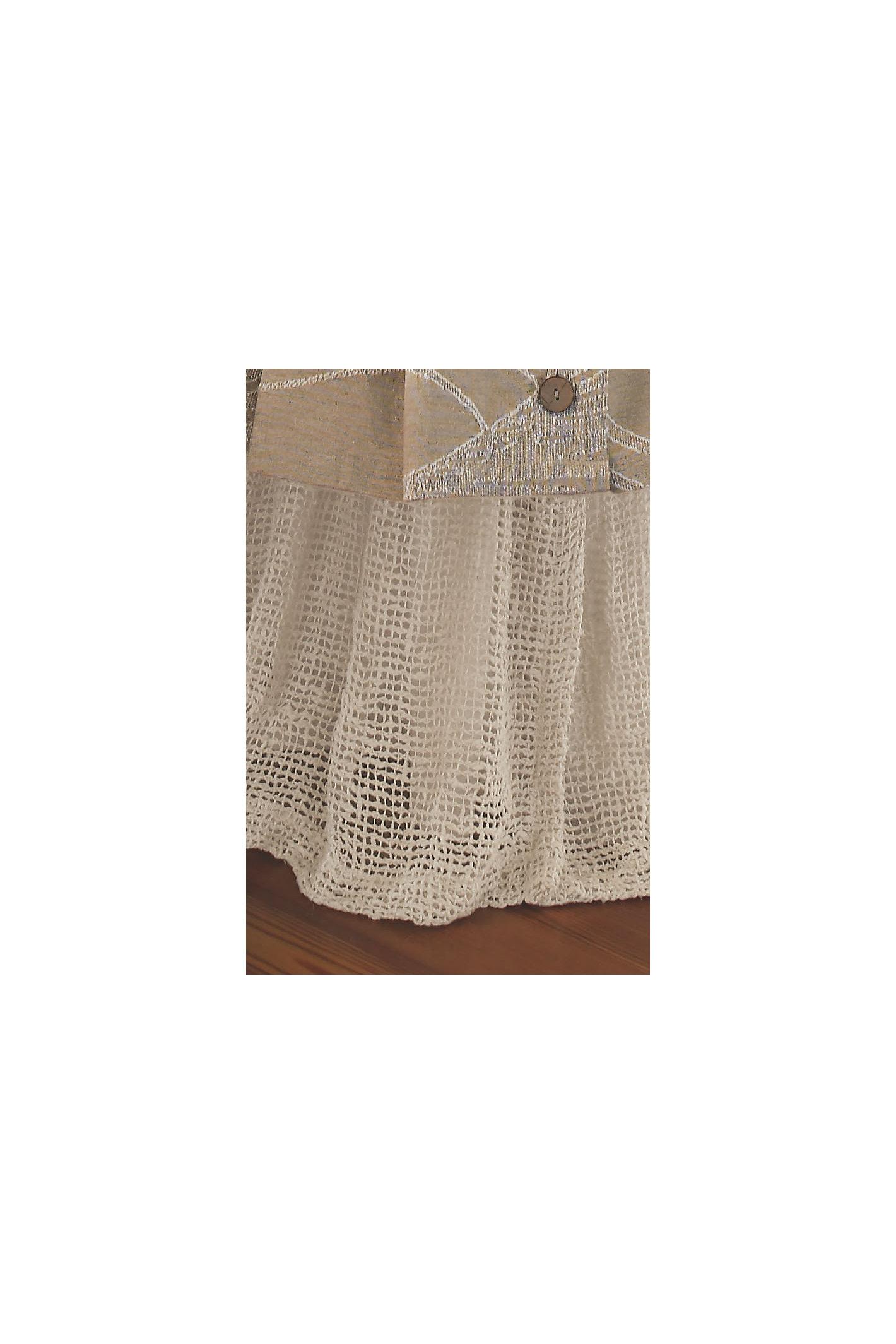 Raw Silk Woven Bedskirt