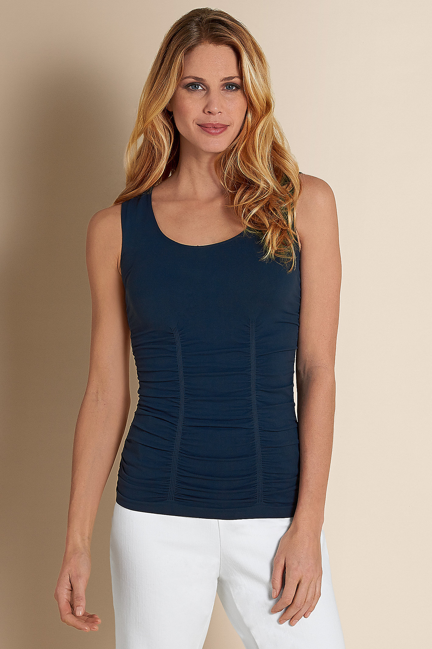 Ruched Seamless Tank