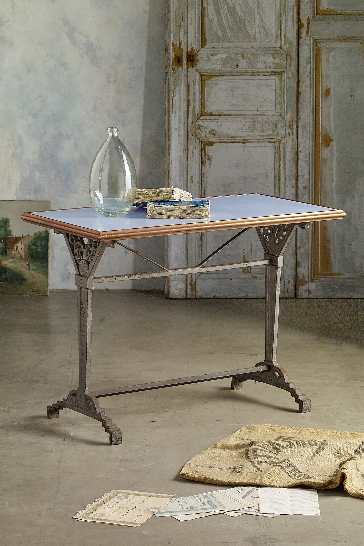 Opaline Top Bistro Table