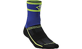 RBX EXPERT SOCKS WMN INDIGO/LIGHT GREEN