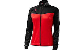 THERMINAL JERSEY LONG SLEEVE WOMEN RED/BLK TEAM S