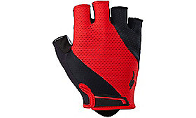 BODY GEOMETRY GEL GLOVE SHORT FINGER RED S